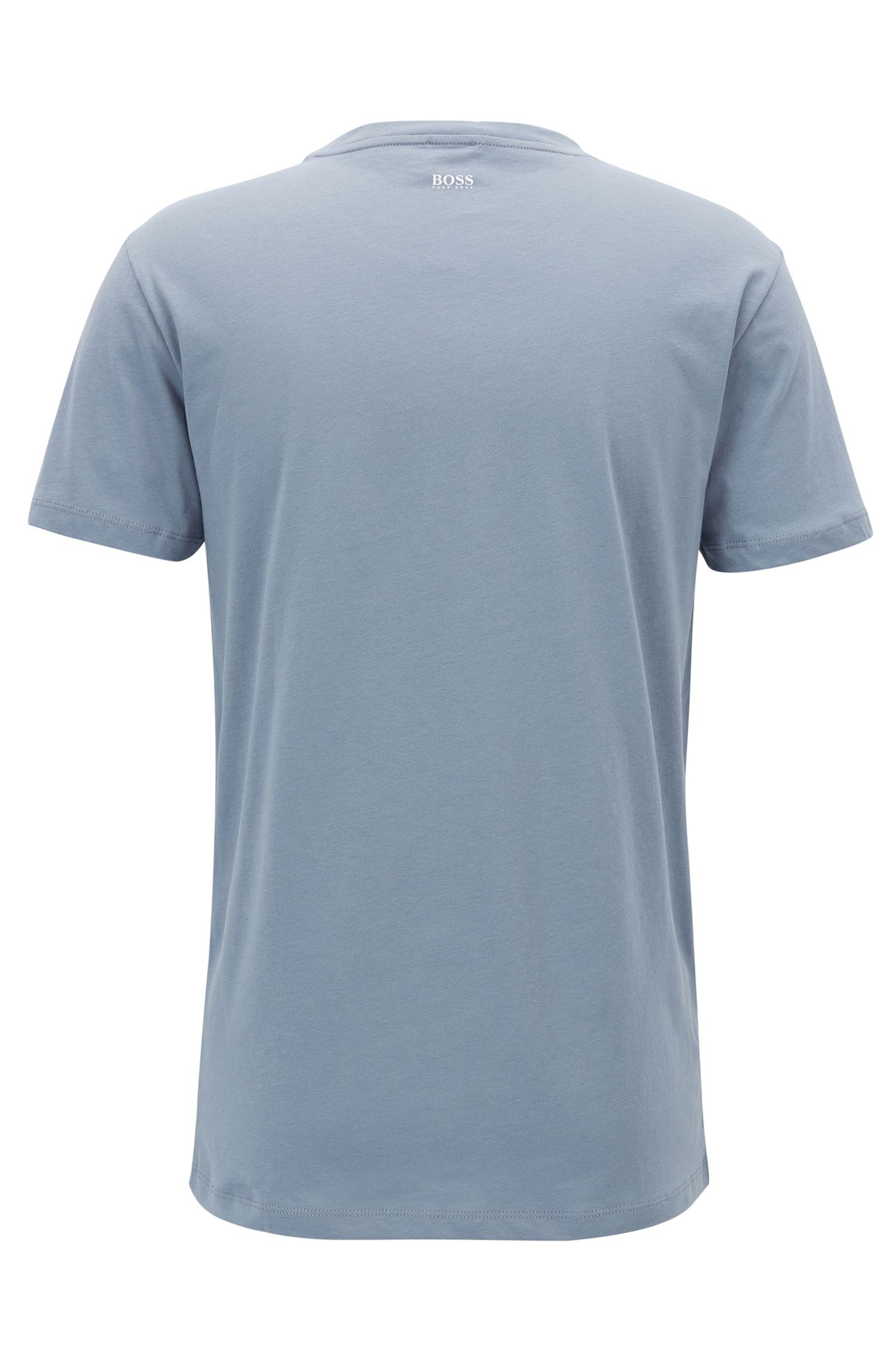 Cotton Jersey Graphic T-Shirt | Tauno