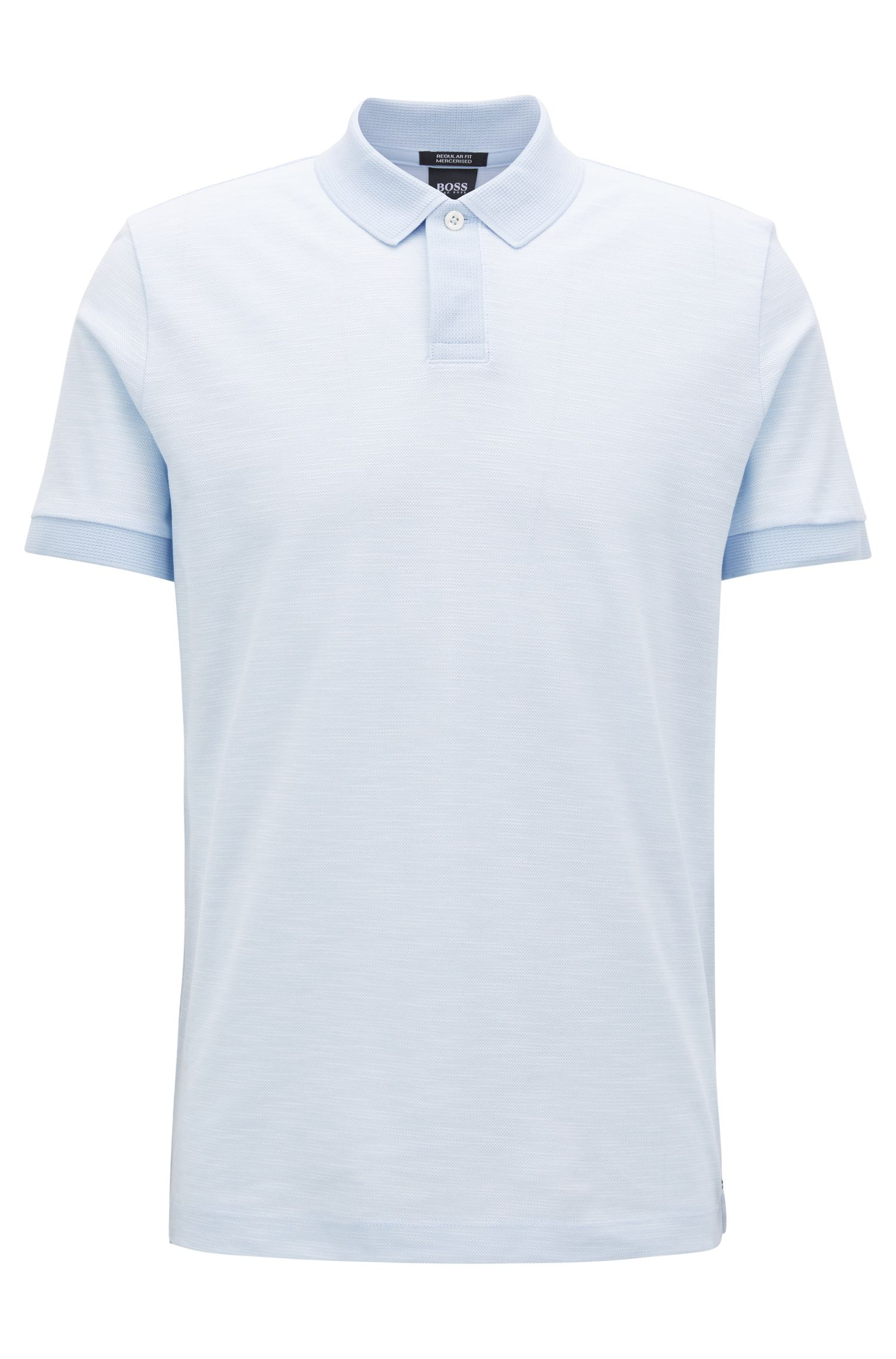 Mercerized Cotton Polo Shirt, Regular Fit | Parlay