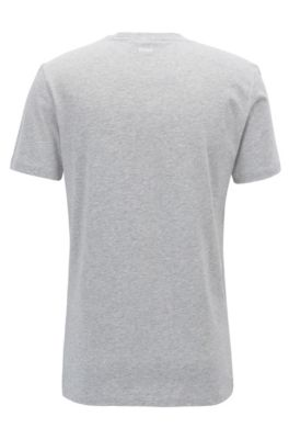 81d629fe BOSS - Cuba-Print Cotton Jersey Graphic T-Shirt | Tauno