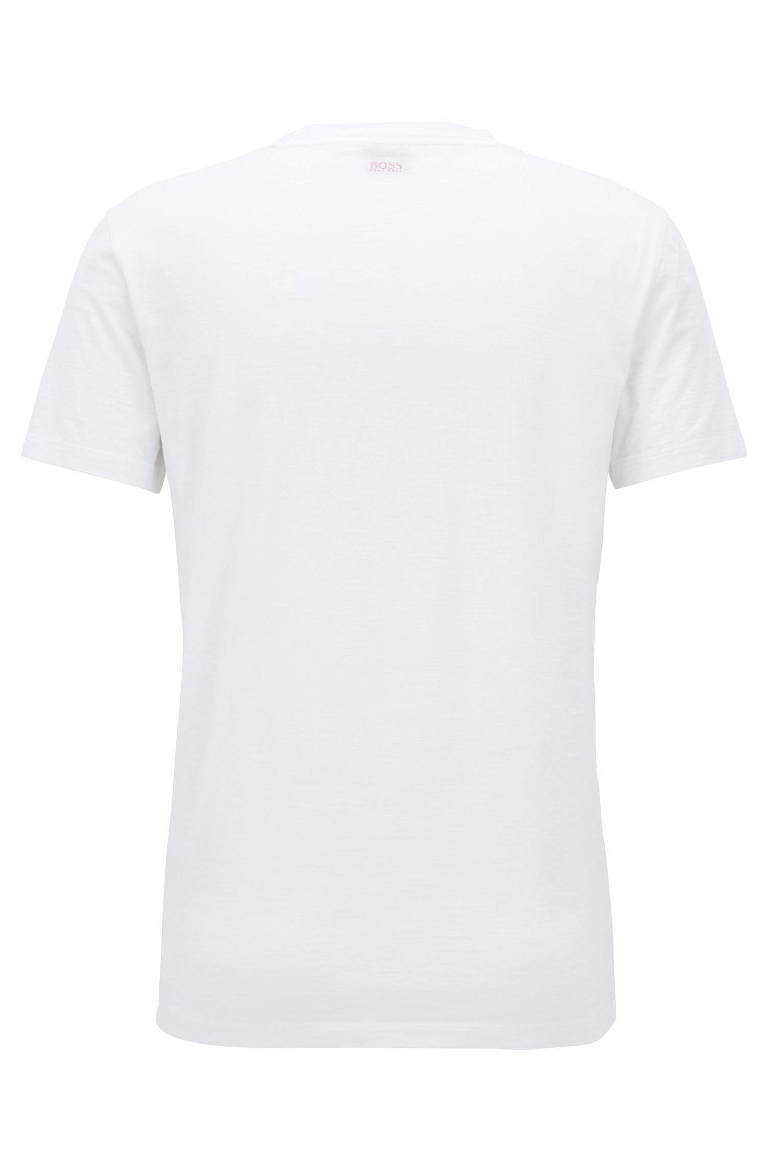 Rooster Cotton Graphic T-Shirt | Tarjo, White