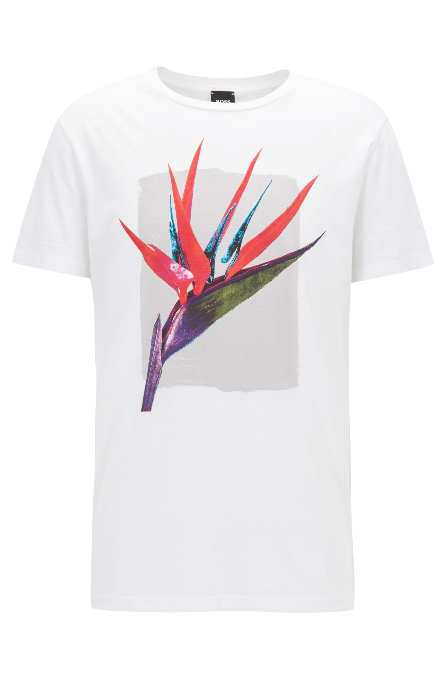 Bird Of Paradise Graphic T-Shirt | Timen