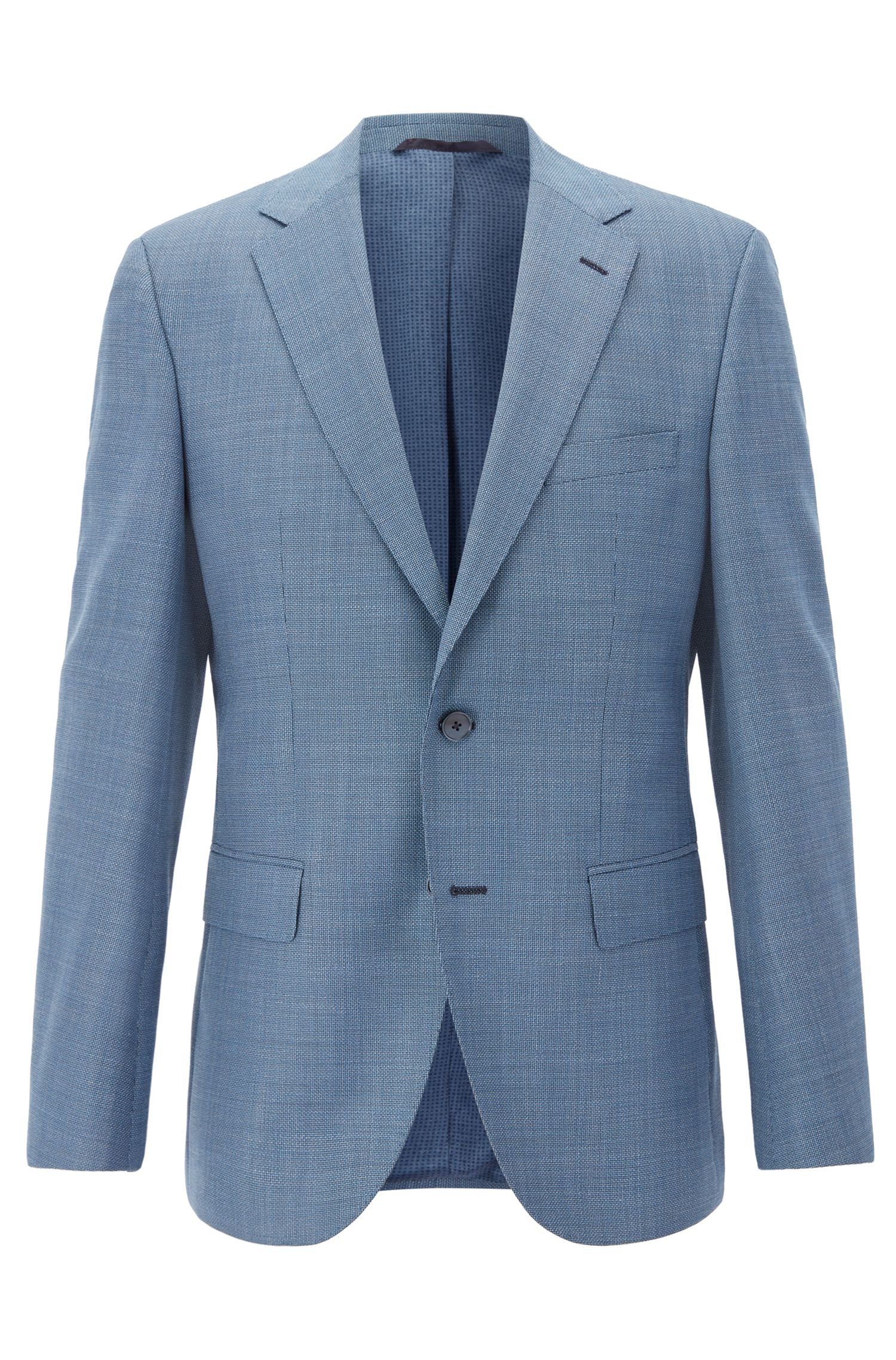 Italian Virgin Wool Sport Coat, Regular Fit | Jewels, Turquoise