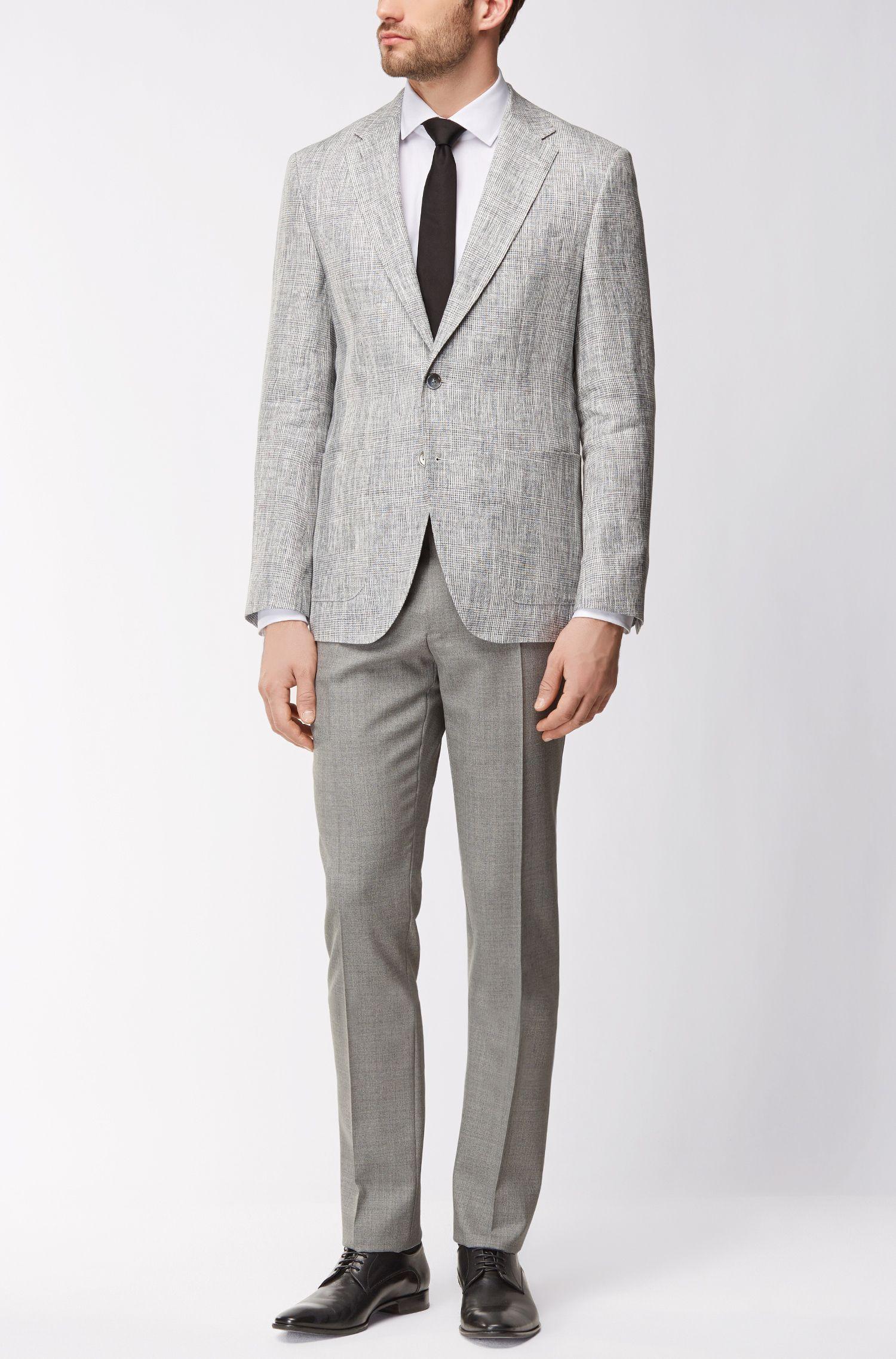 Virgin Wool Dress Pant, Regular Fit | T-Lones