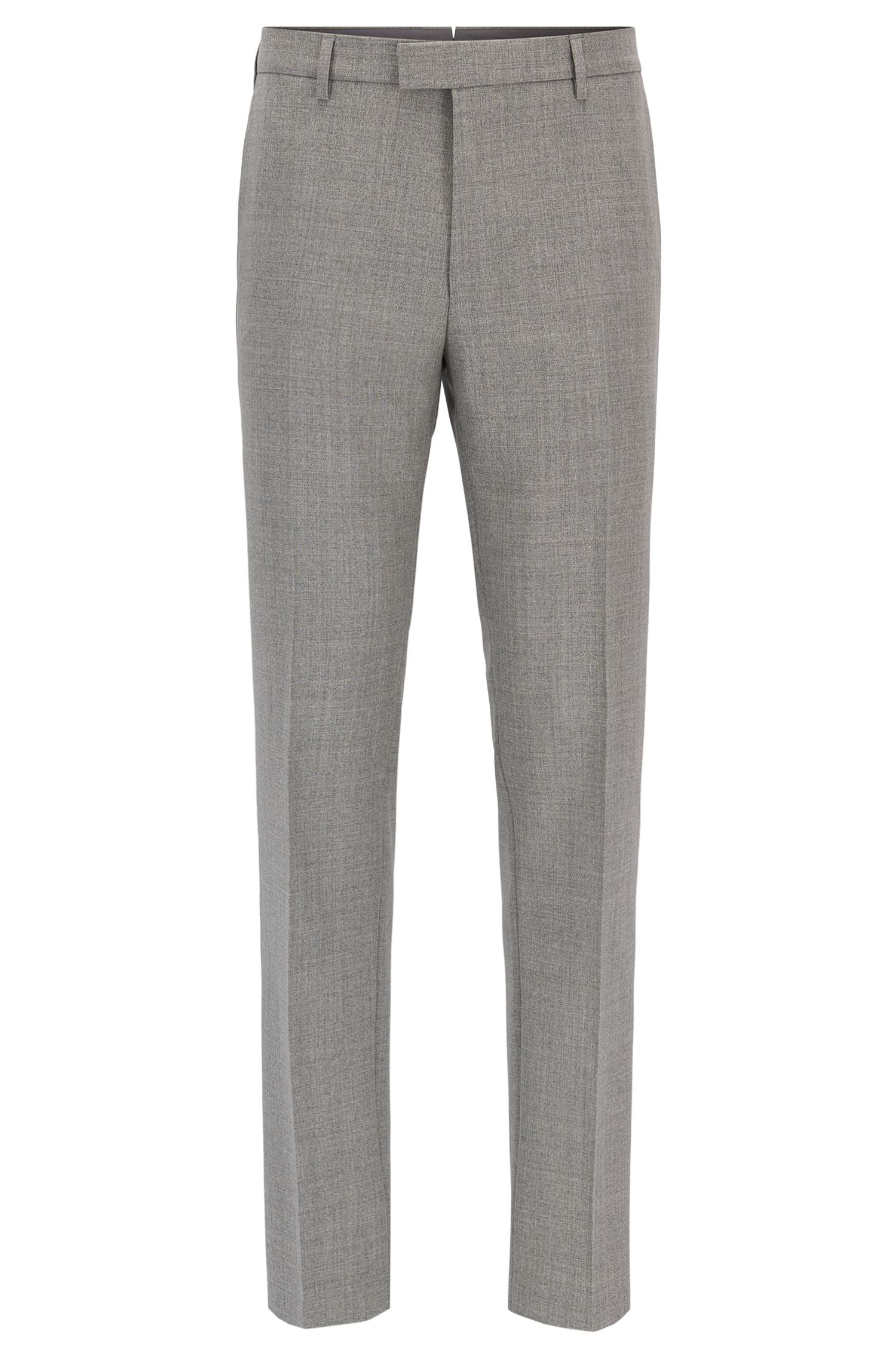 Virgin Wool Dress Pant, Regular Fit | T-Lones