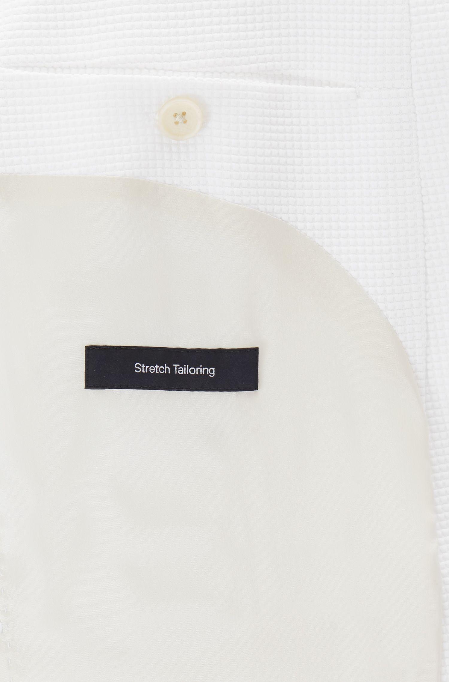 Waffle-Knit Jersey Blend Sport Coat, Slim Fit | Norwin J