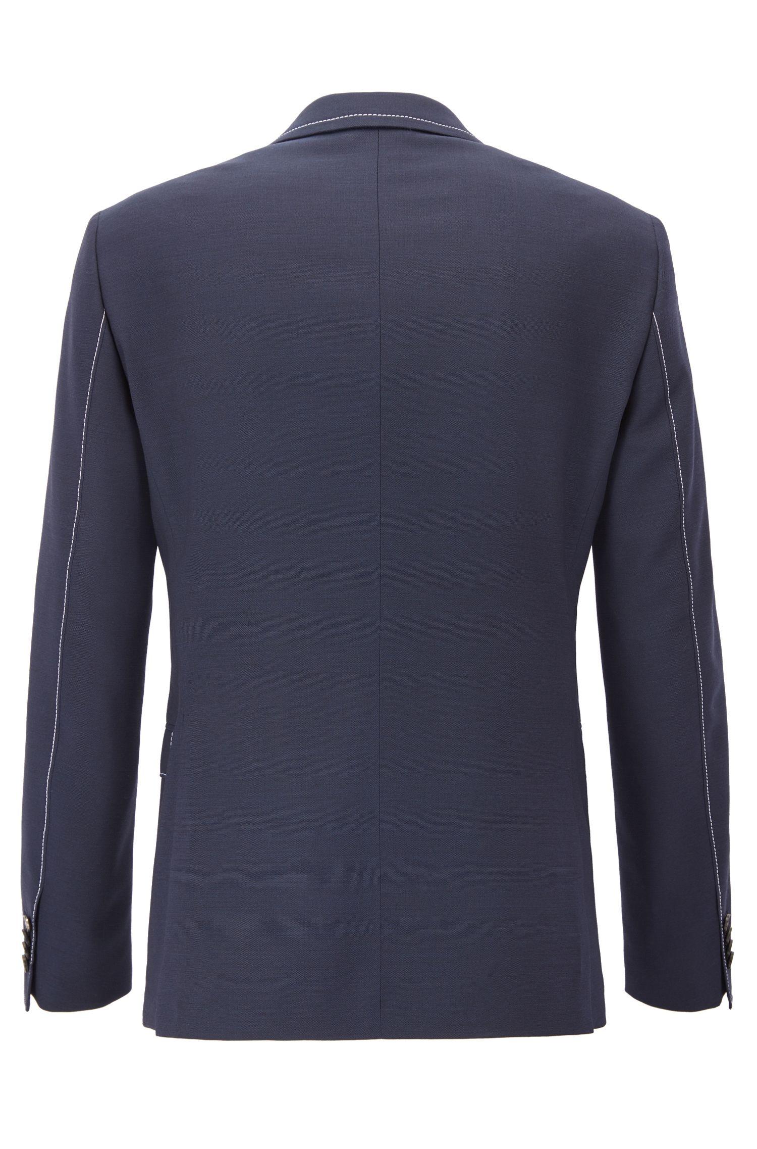 Virgin Wool Sport Coat, Extra Slim Fit | Rawen