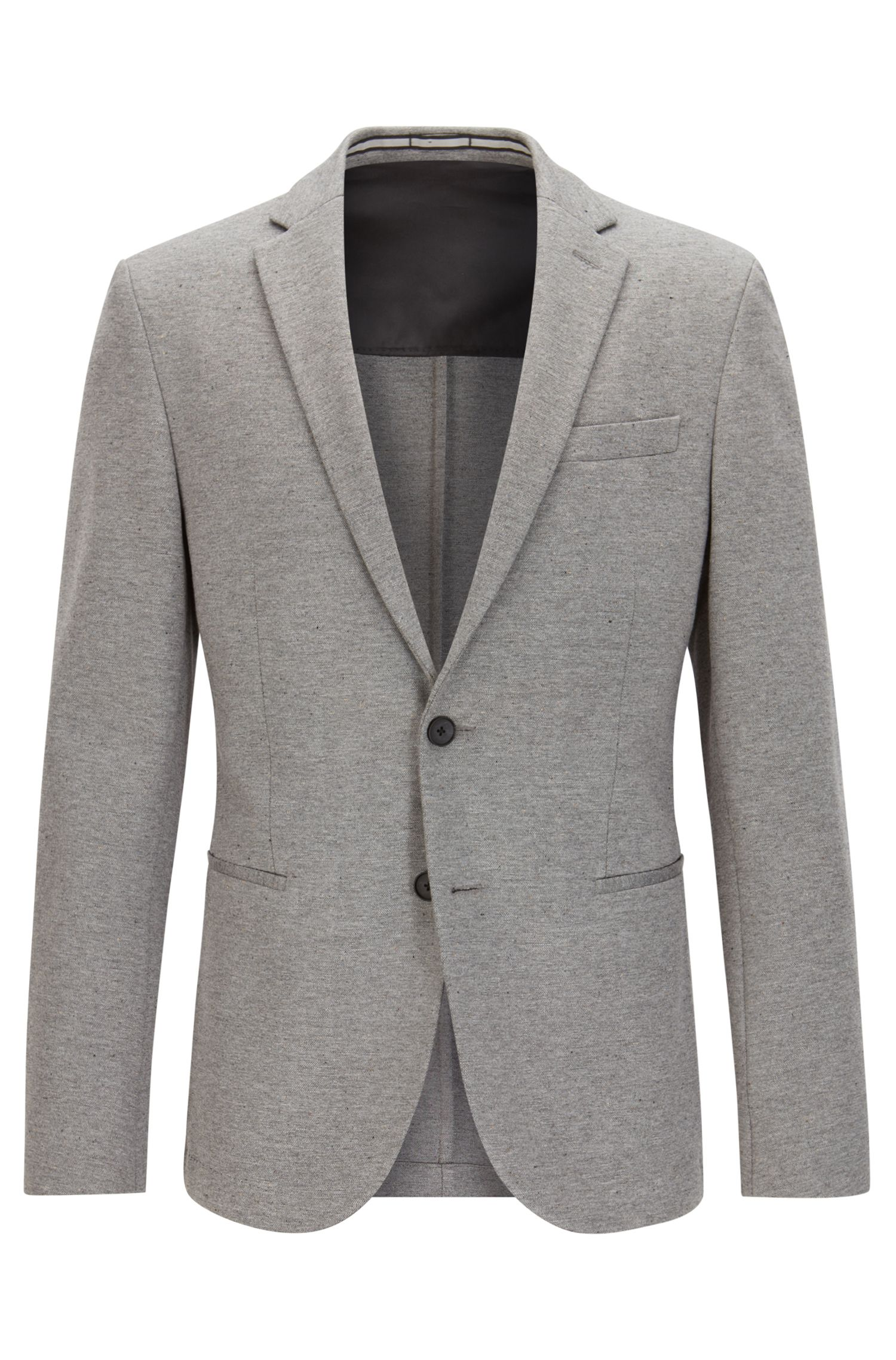 Jersey Blend Sport Coat, Slim Fit | Norwin J