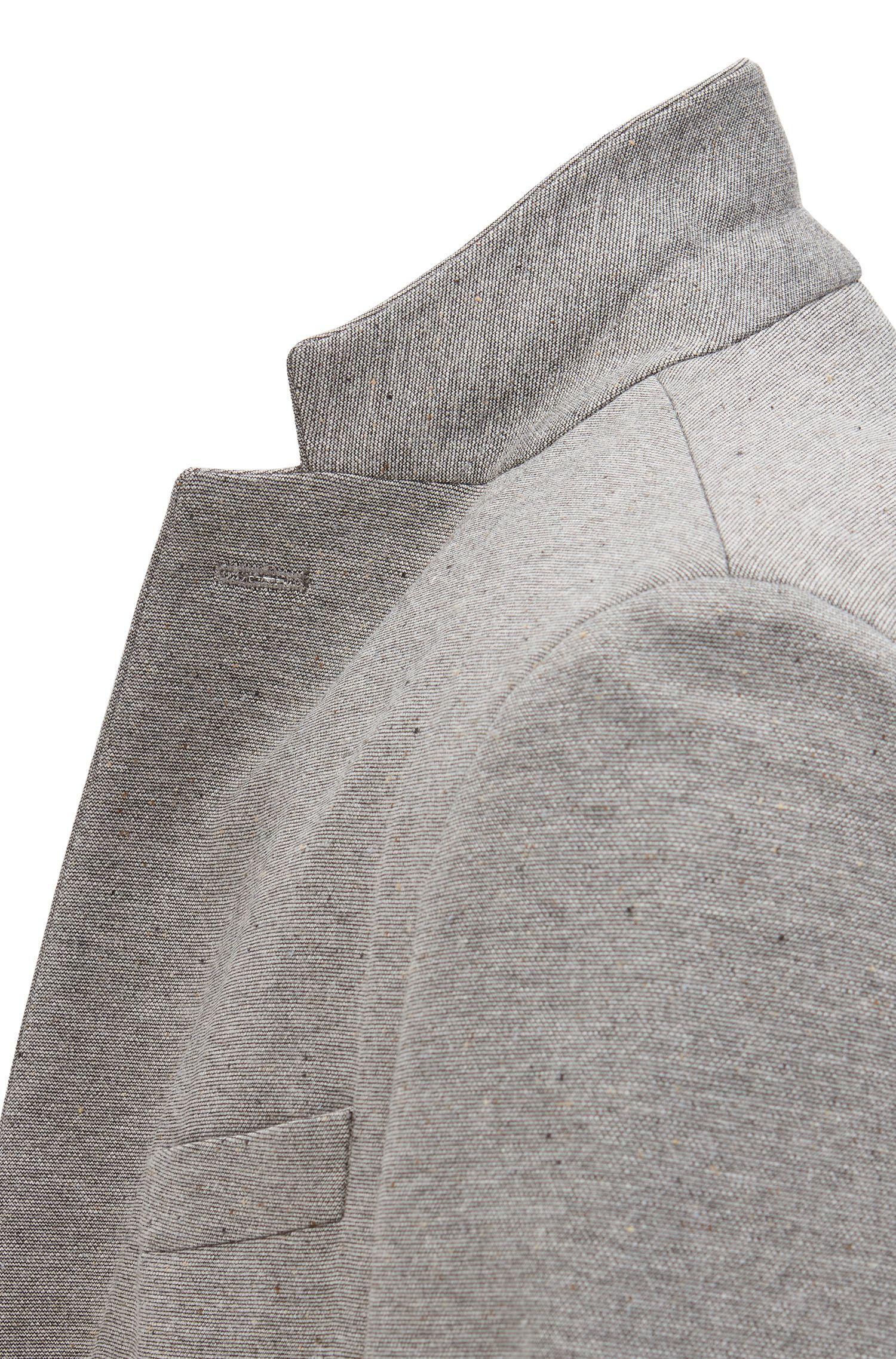 Jersey Blend Sport Coat, Slim Fit   Norwin J