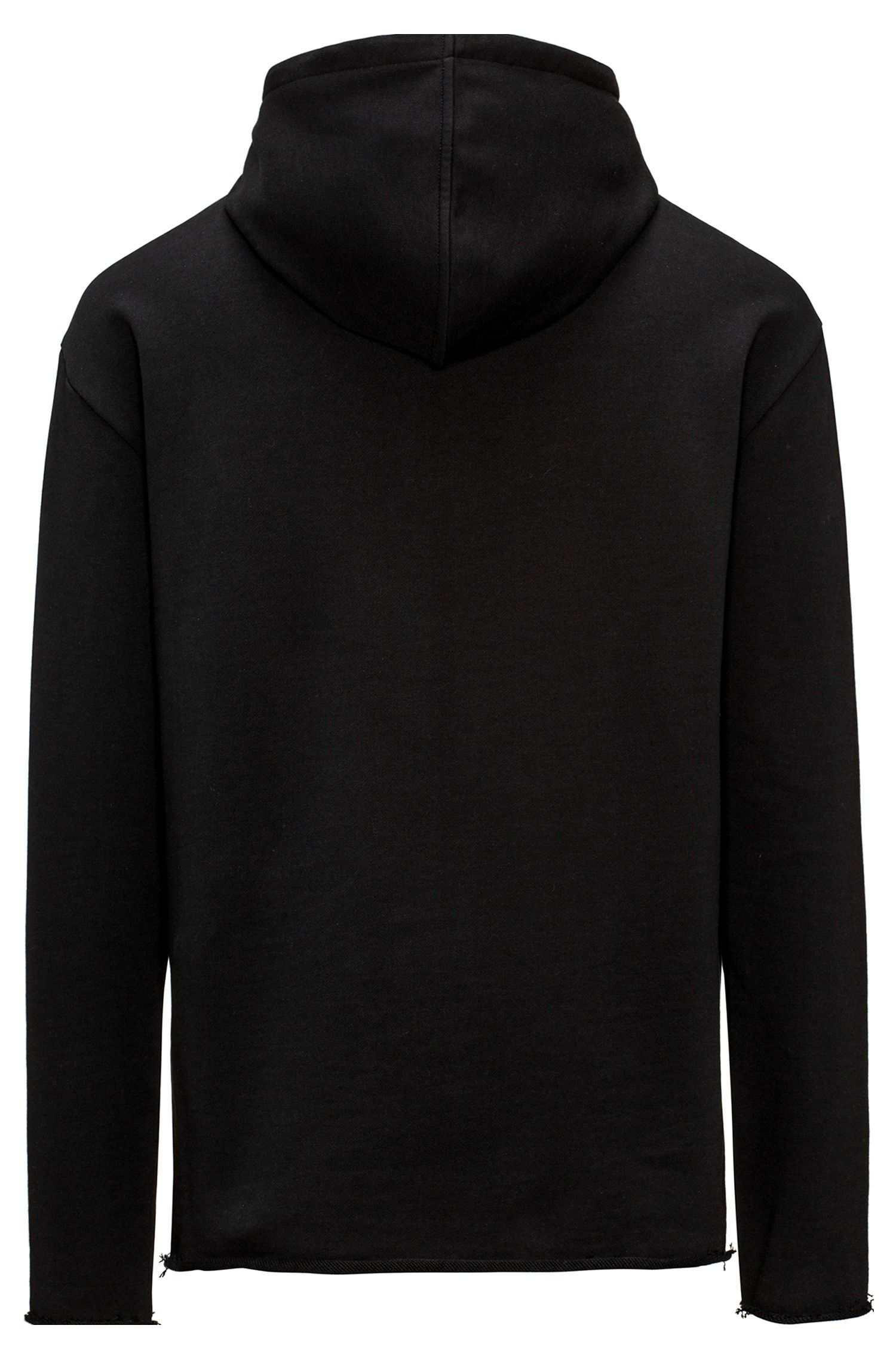 Cotton Half-Zip Hooded Sweatshirt | Dolonel