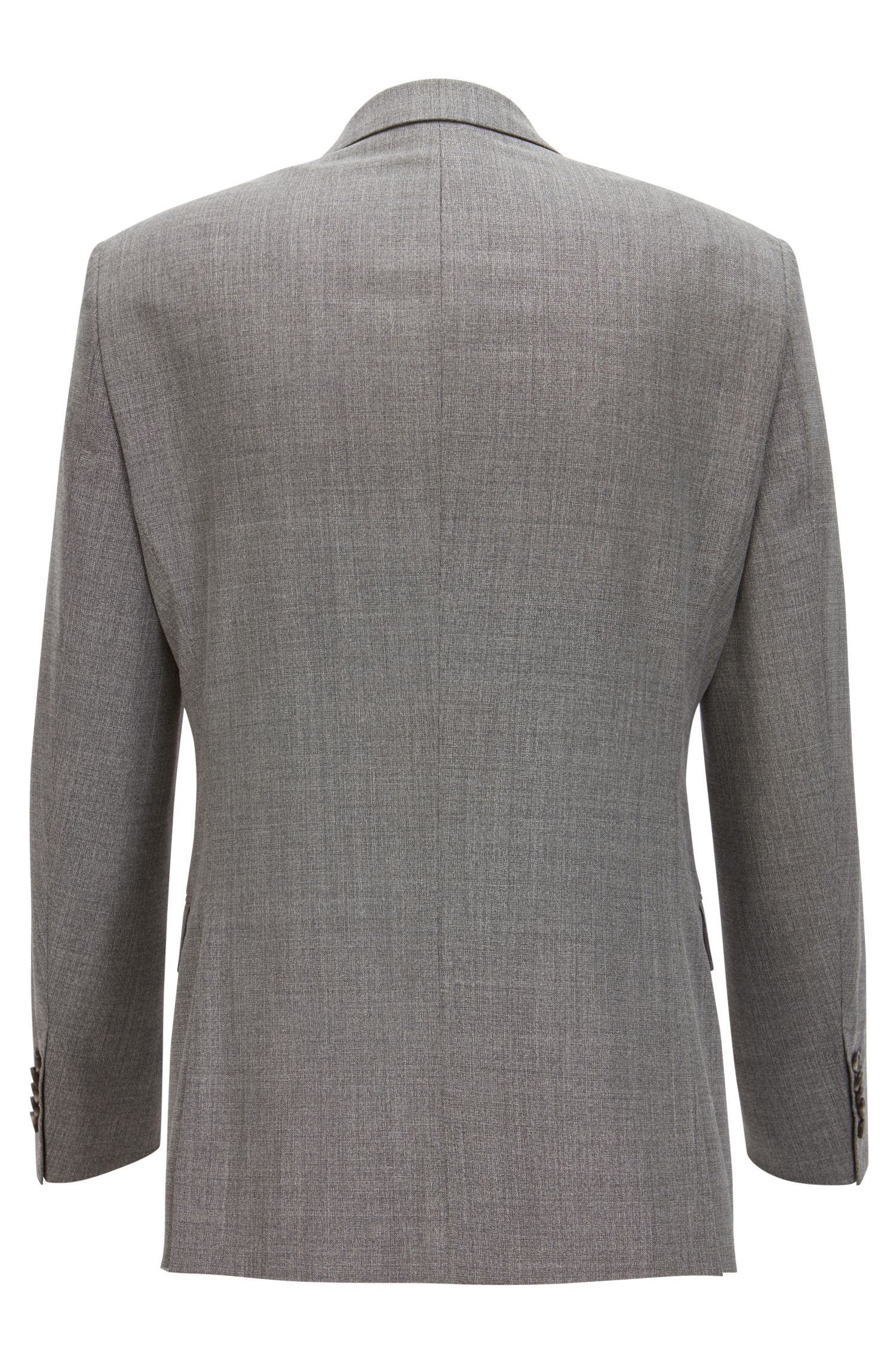 Wool-Silk Suit, Slim Fit | T-Harver/Glover