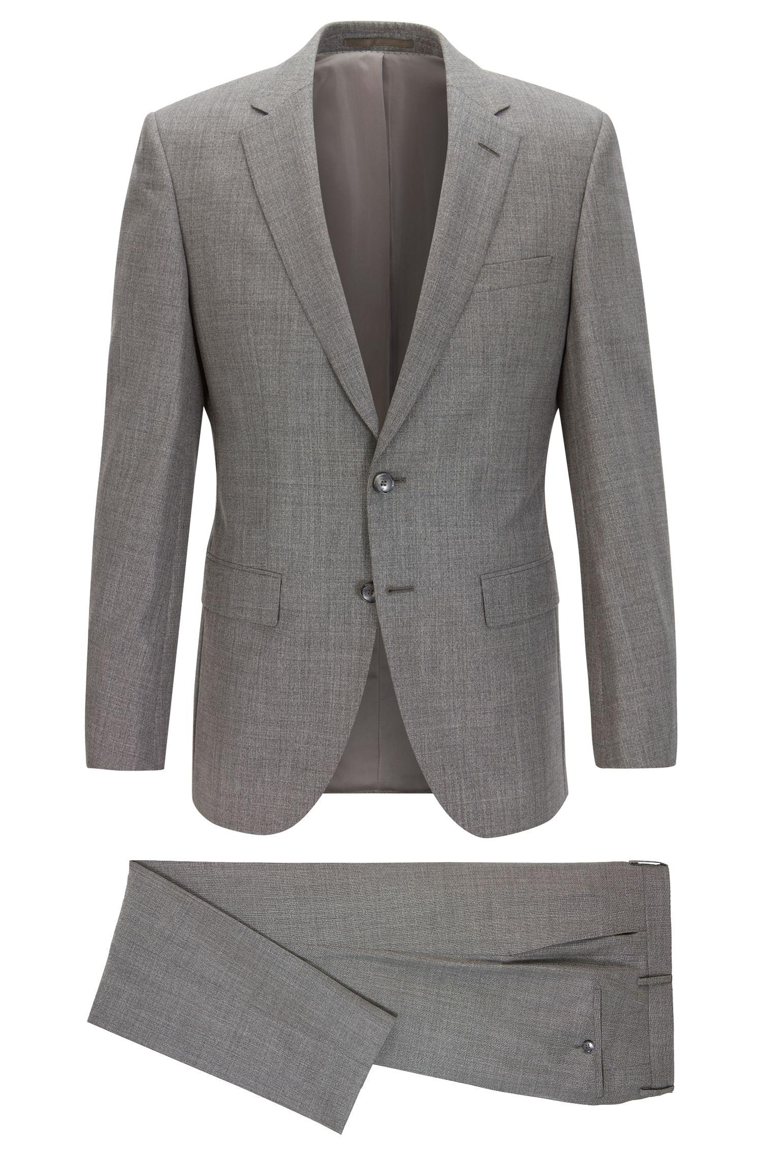 Wool-Silk Suit, Slim Fit   T-Harver/Glover