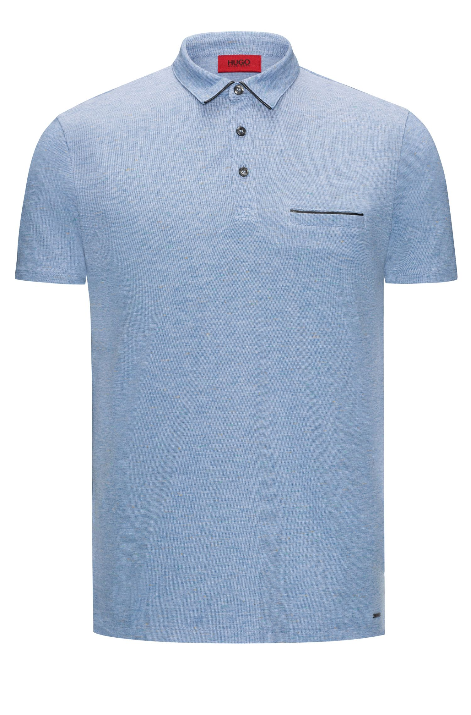 Cotton Polo Shirt, Slim Fit | Darrow