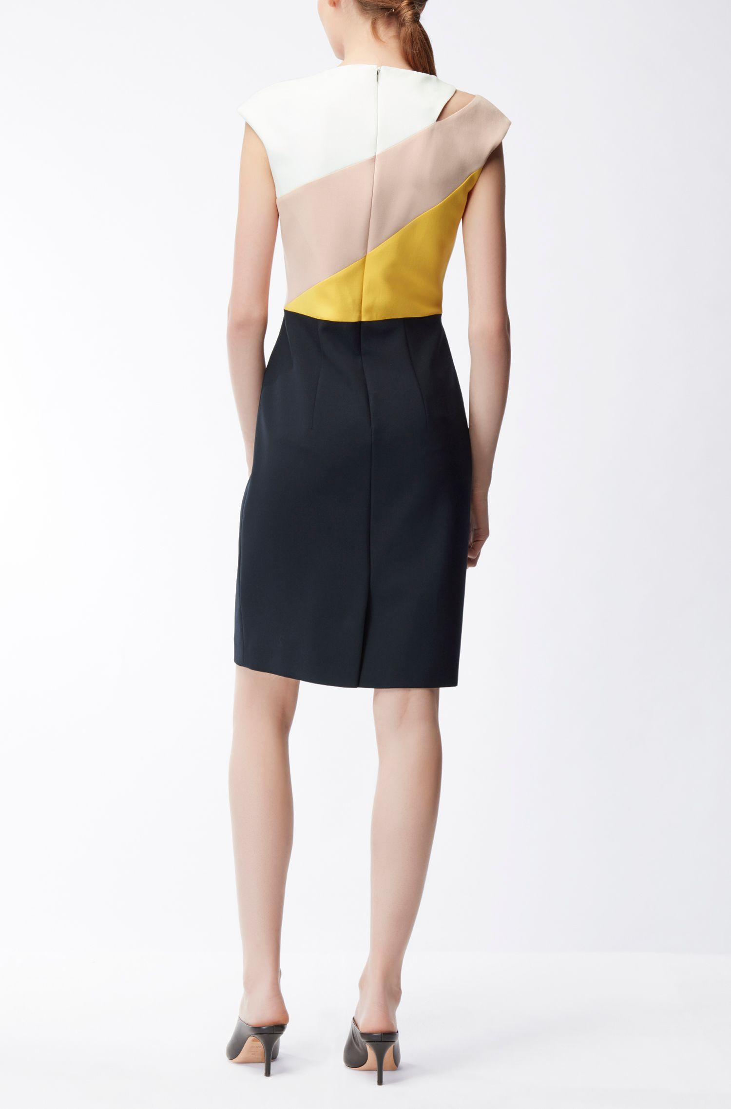 Cut-Out Colorblocked Dress | Danouk