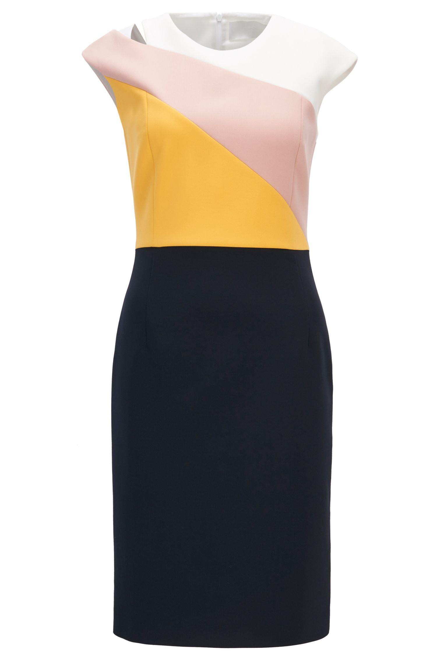 Cut-Out Colorblocked Dress | Danouk