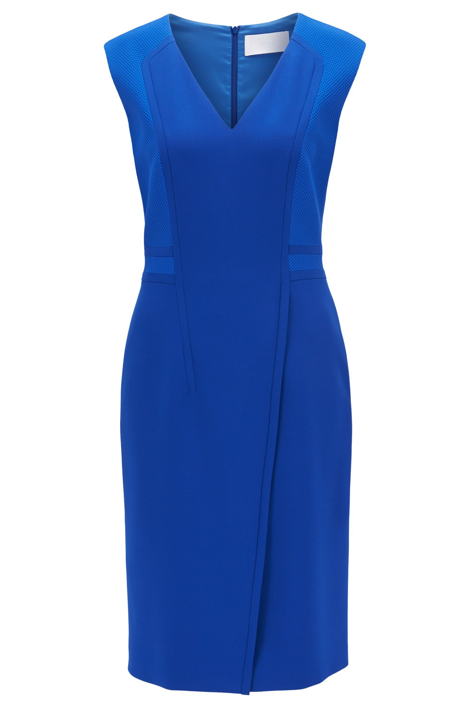V-Neck Sheath Dress | Dadama