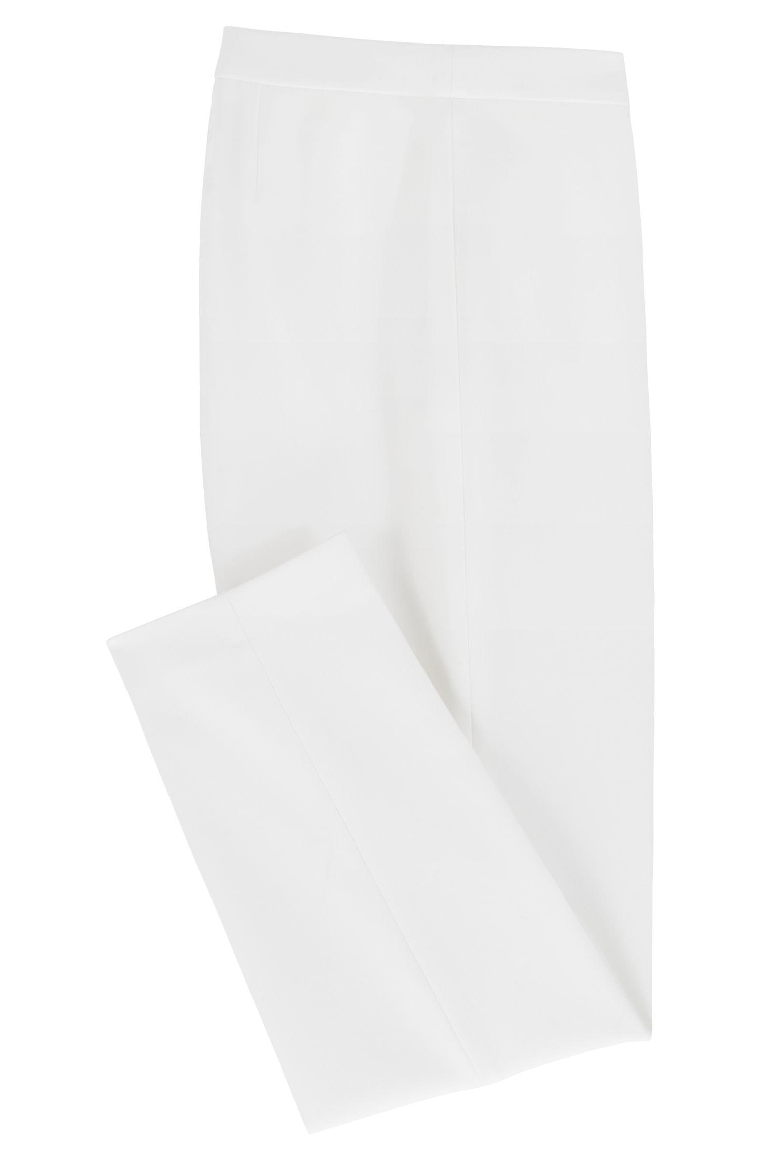 Stretch Crepe Dress Pant | Tiluna Side Zip