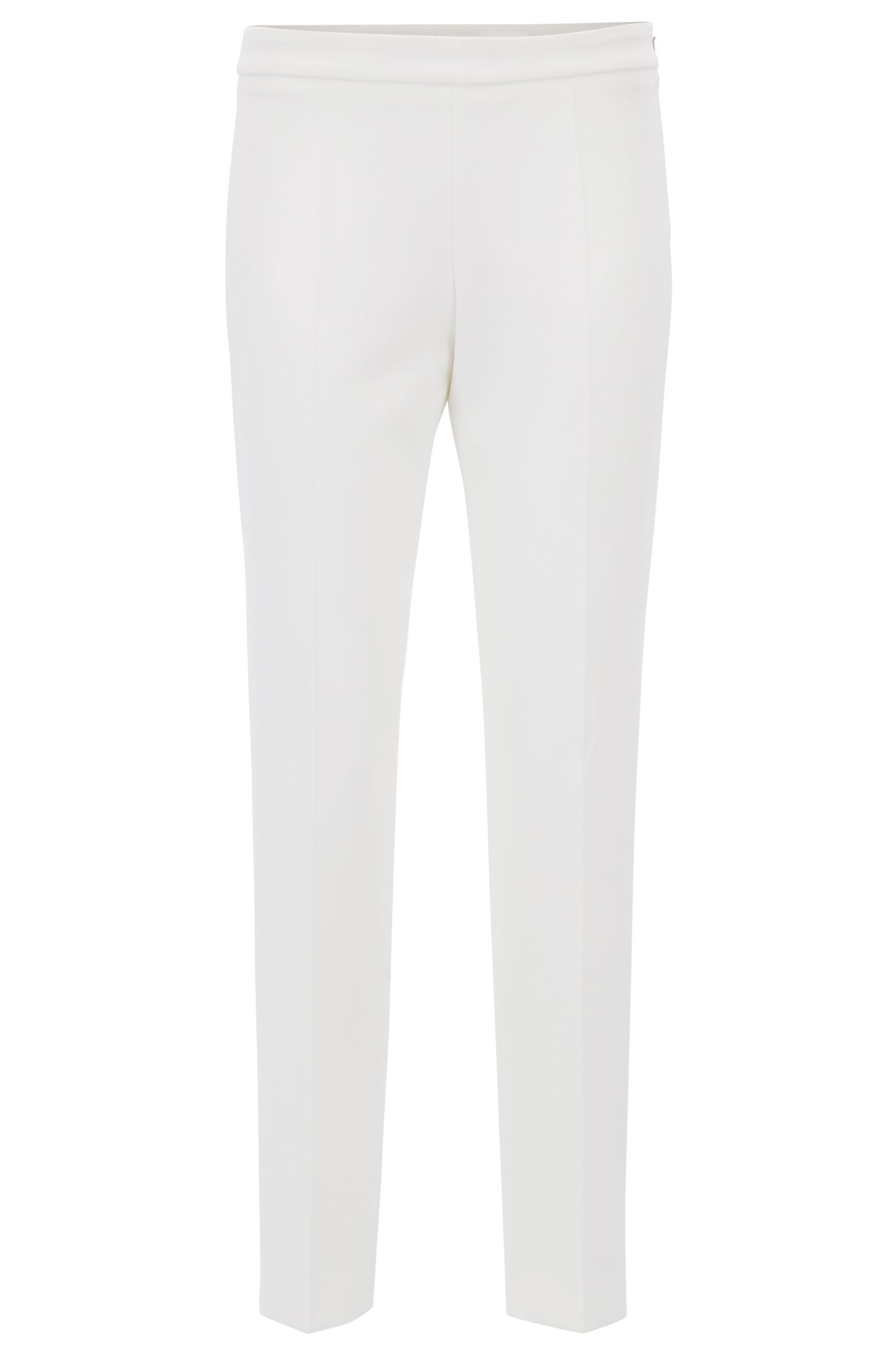 Stretch Crepe Dress Pant | Tiluna Side Zip