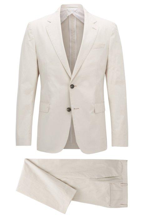 c9284317 BOSS - Paper Touch Cotton Suit, Slim Fit | Nylen/Pery
