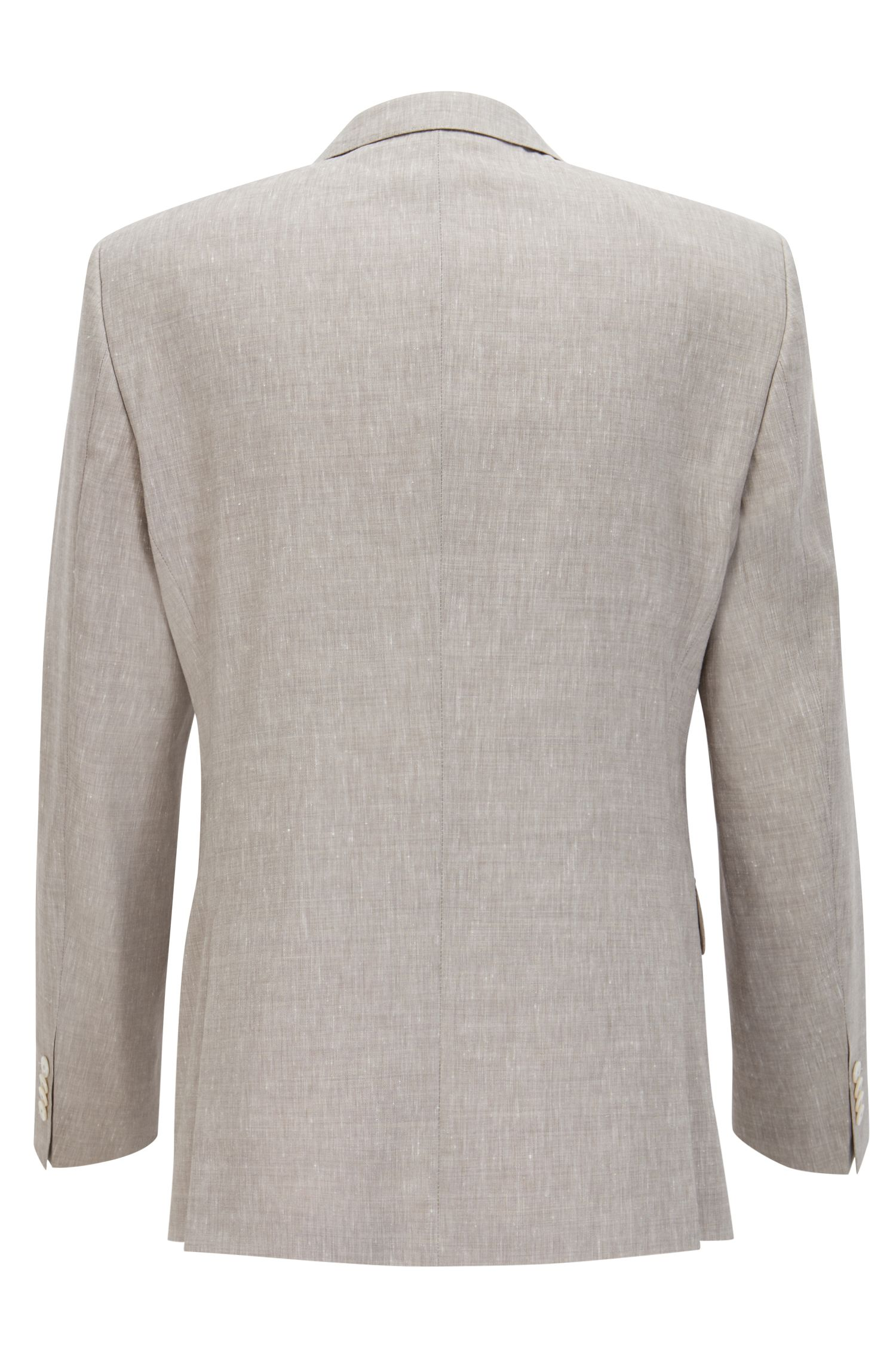 Wool Linen Suit, Slim Fit | Hutson/Gander