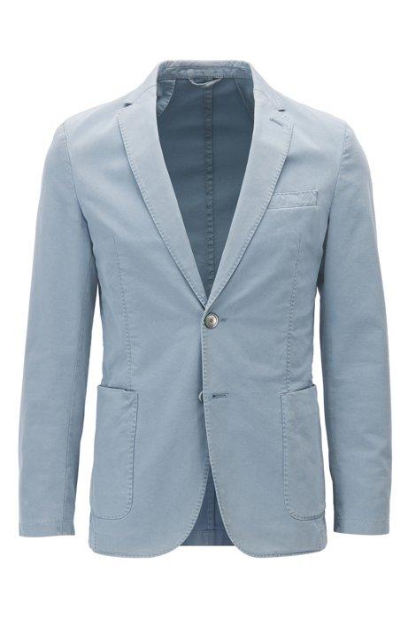 547e0defed53 BOSS - Garment-Dyed Stretch Cotton Sport Coat