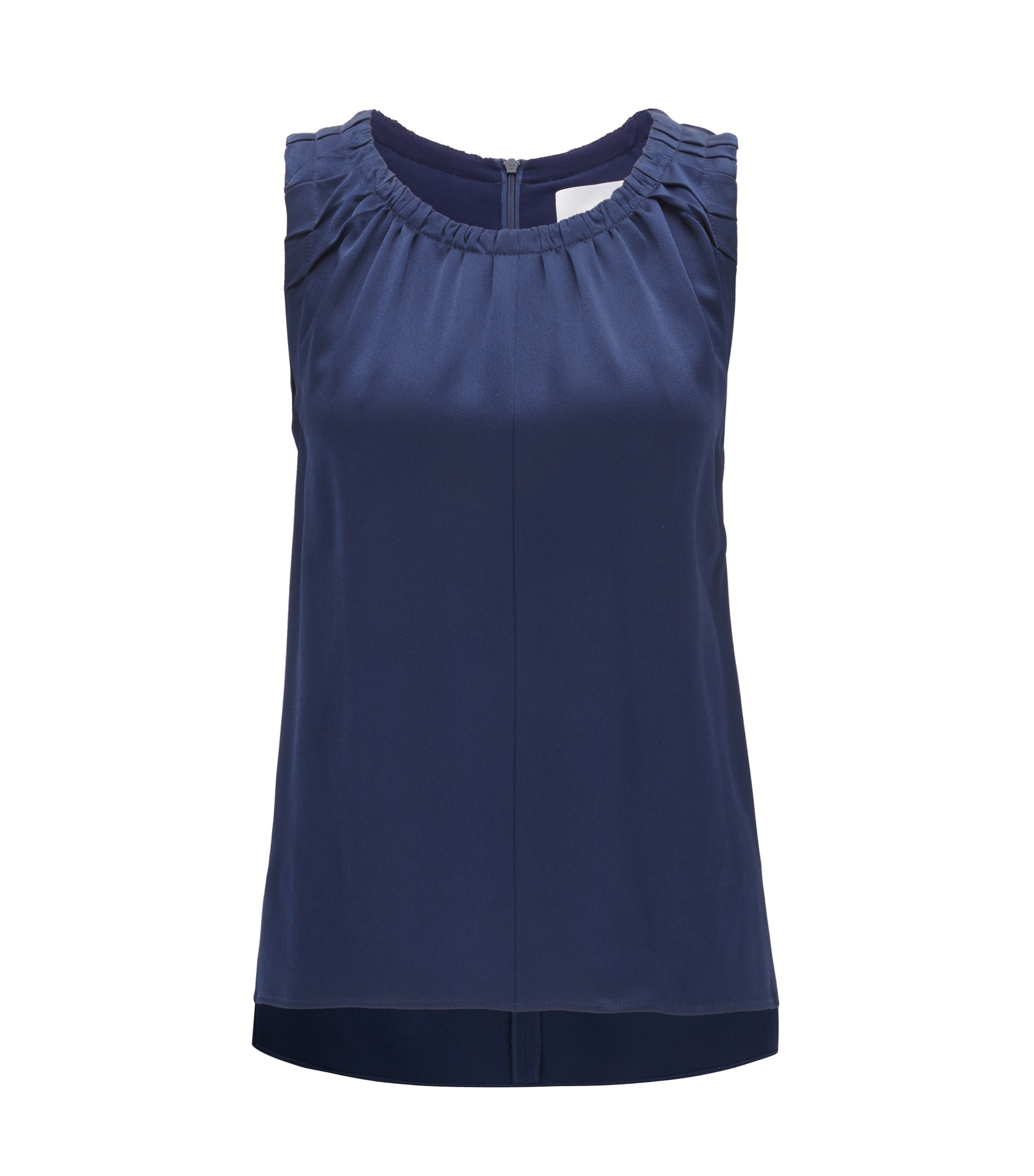 Ruffled Top | Ivancia, Blue