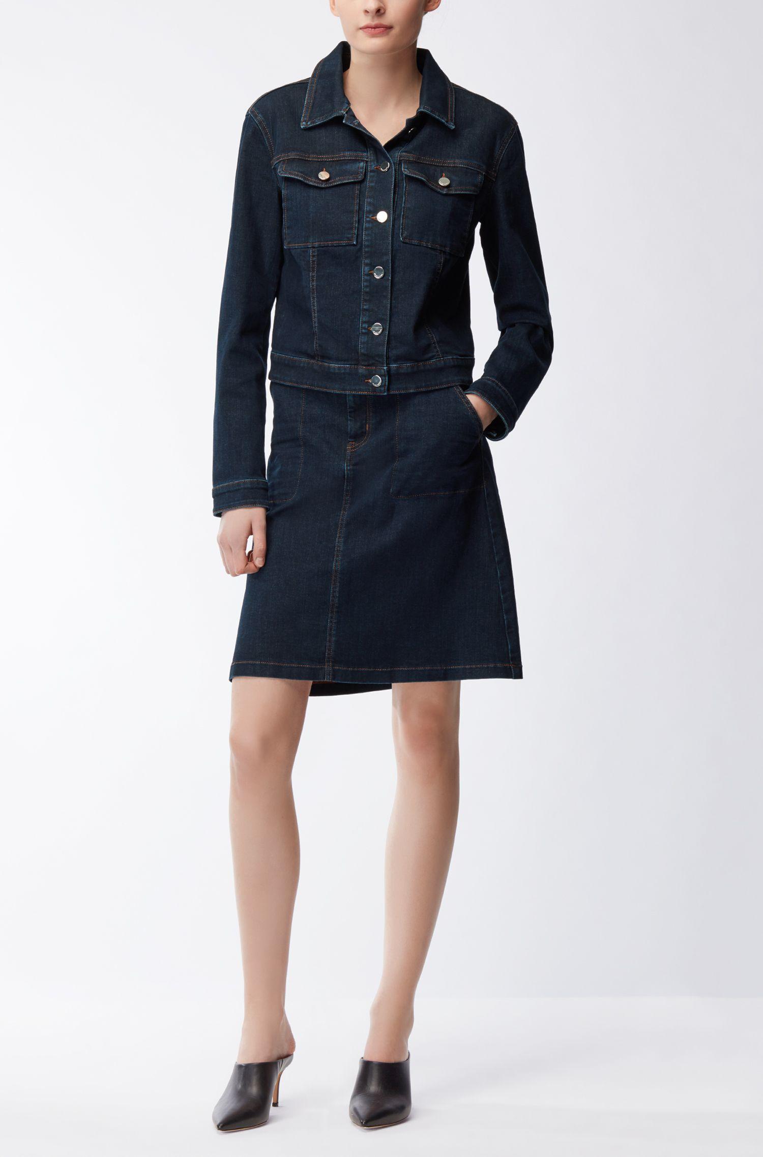 Denim Skirt | Nedime