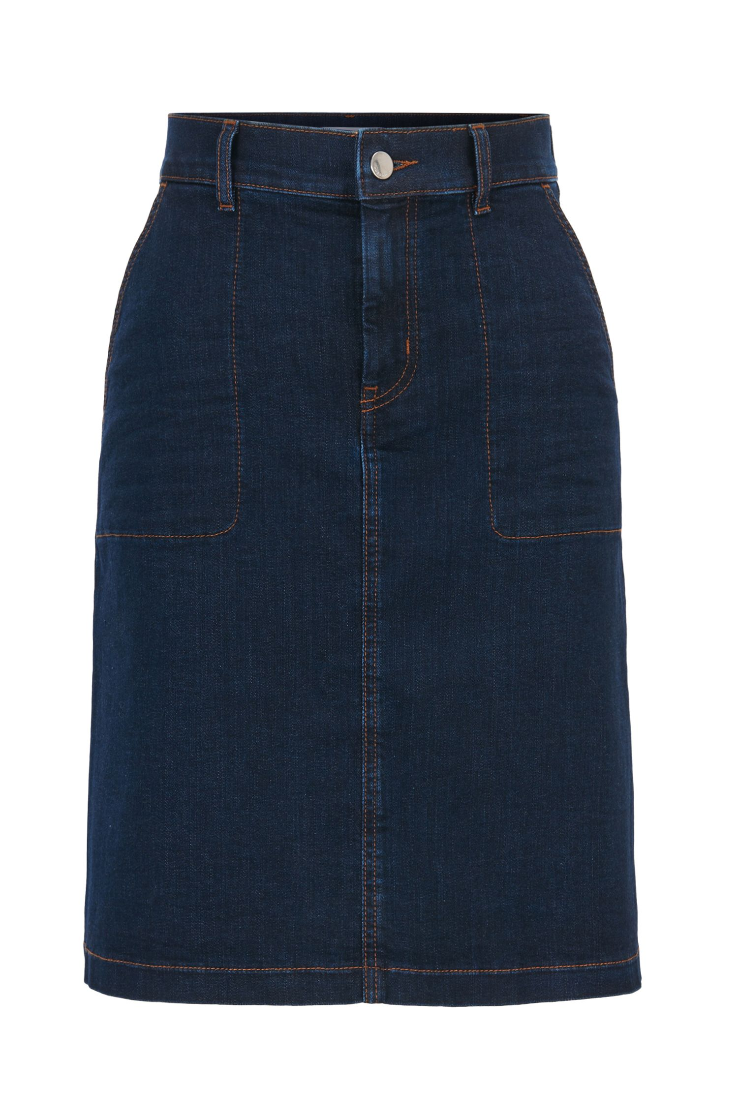 Denim Skirt | Nedime