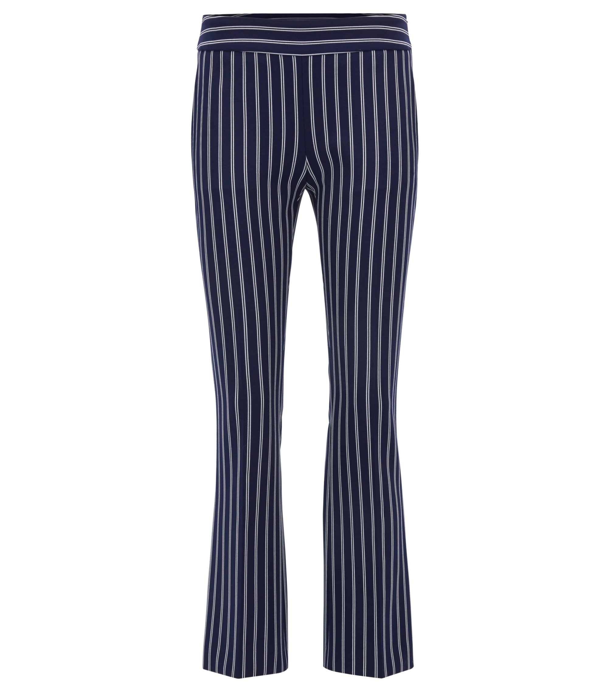 Striped Cropped Pant | Tebella, Patterned