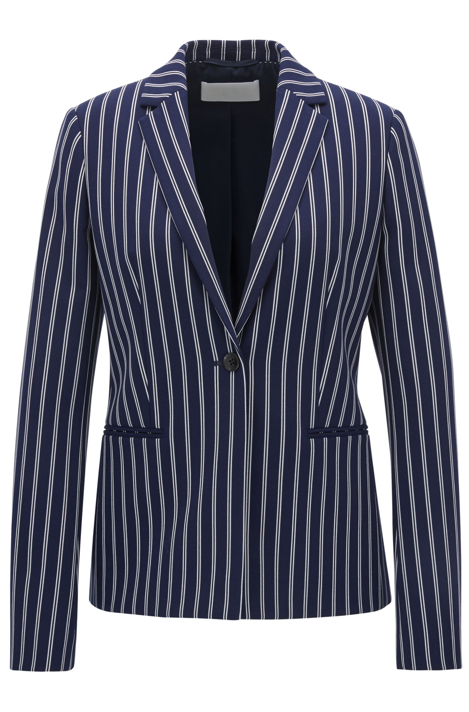 Striped Blazer | Jebella , Patterned