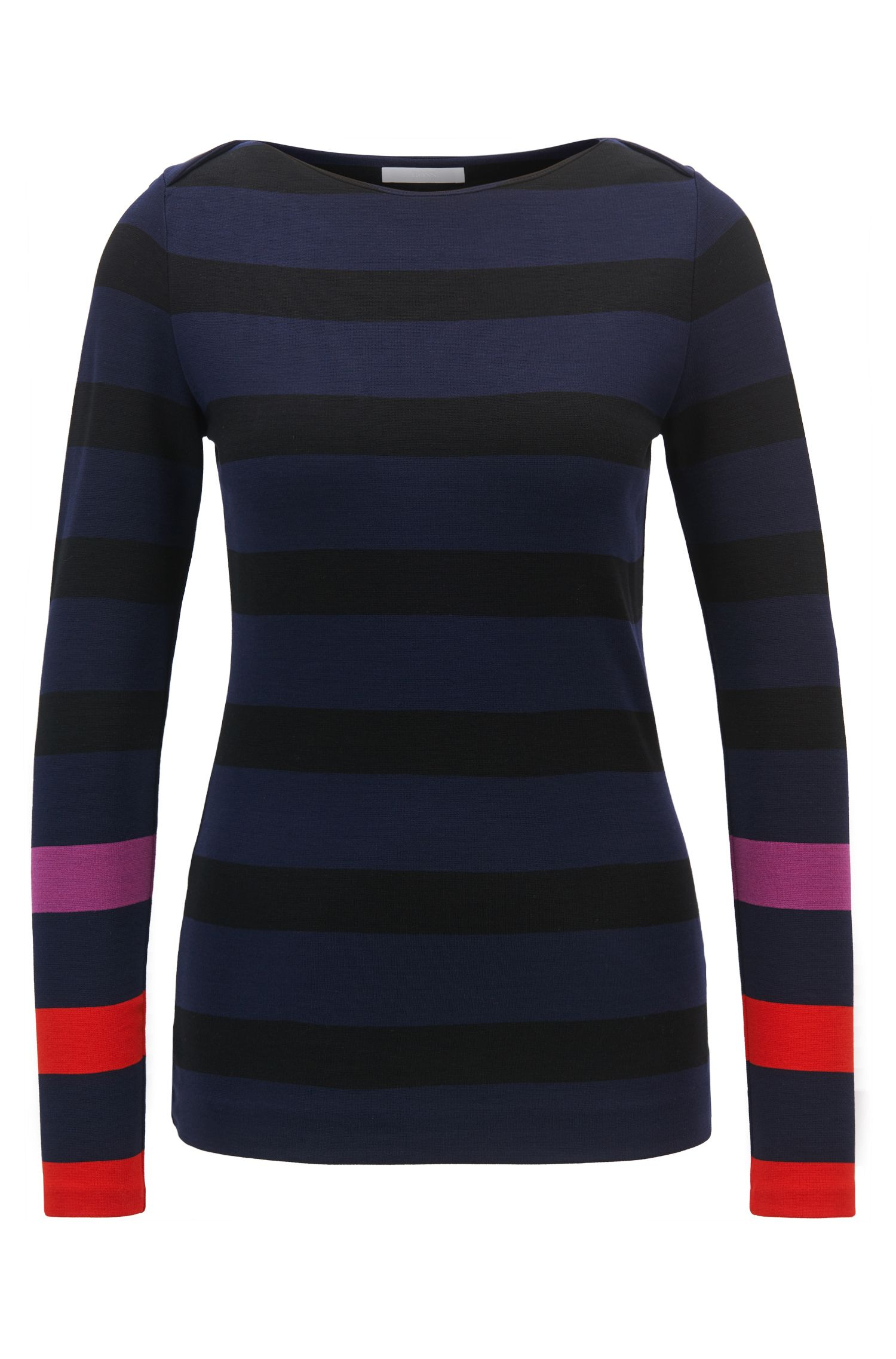 Striped Sweater | Elive, Patterned