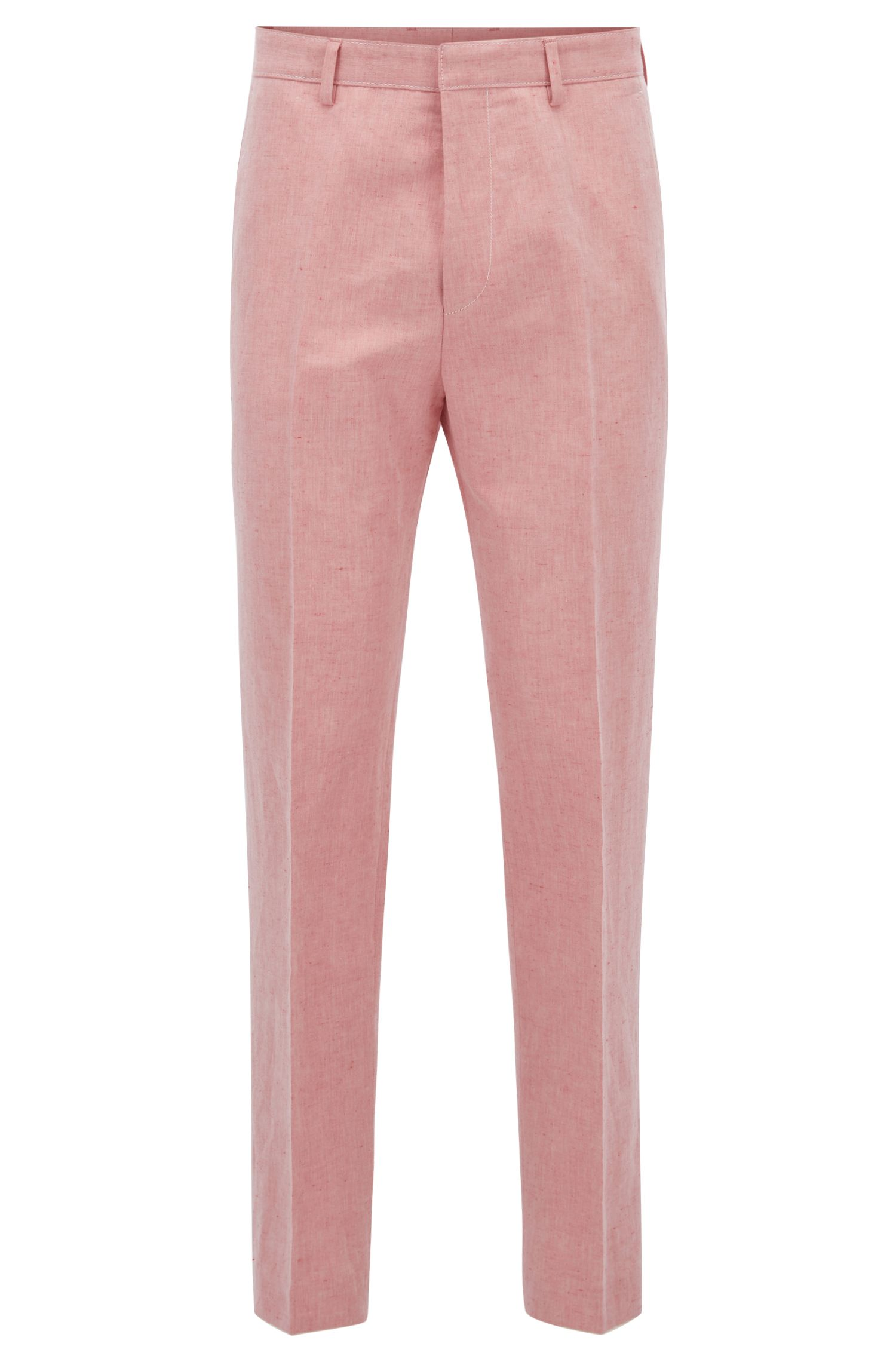 Linen Cotton Dress Pant, Slim Fit | Pirko
