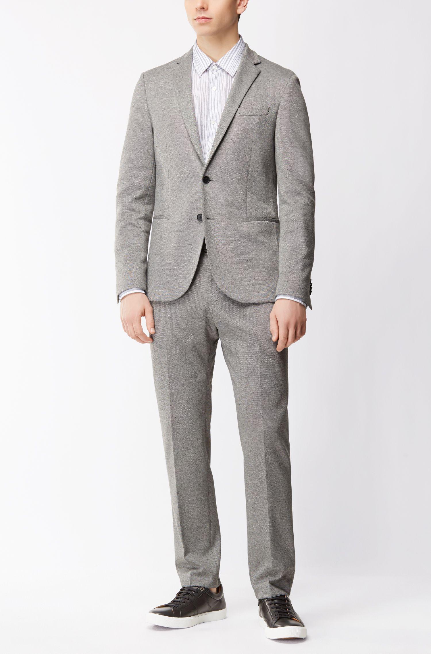 Stretch Dress Pant, Slim Fit | Banks J, Grey