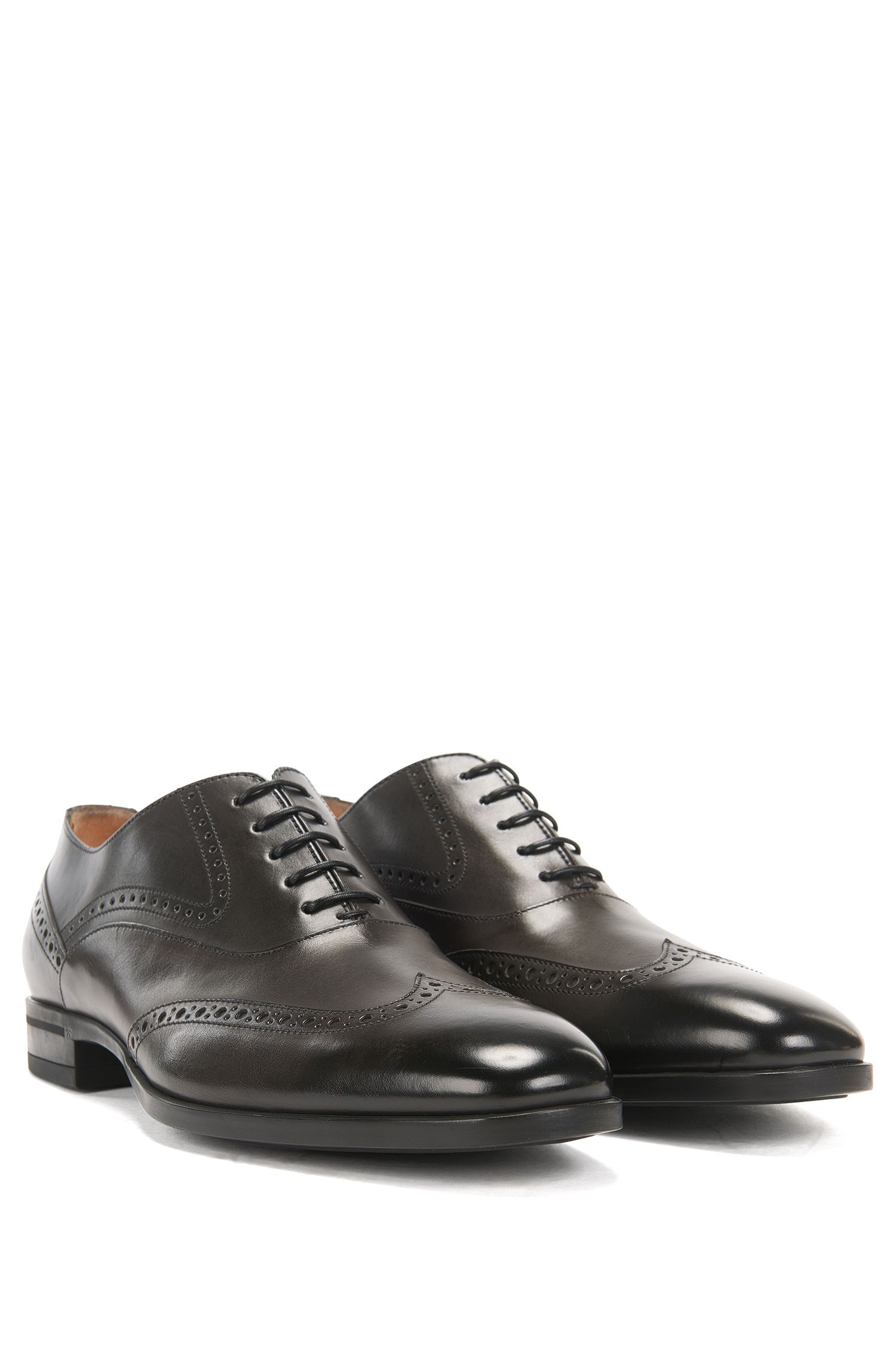 Leather Wingtip Shoe | Kensington Oxfr