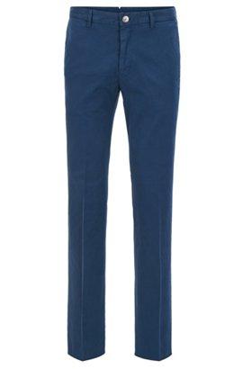 Regular-fit trousers in stretch-cotton gabardine HUGO BOSS 6l7Crq