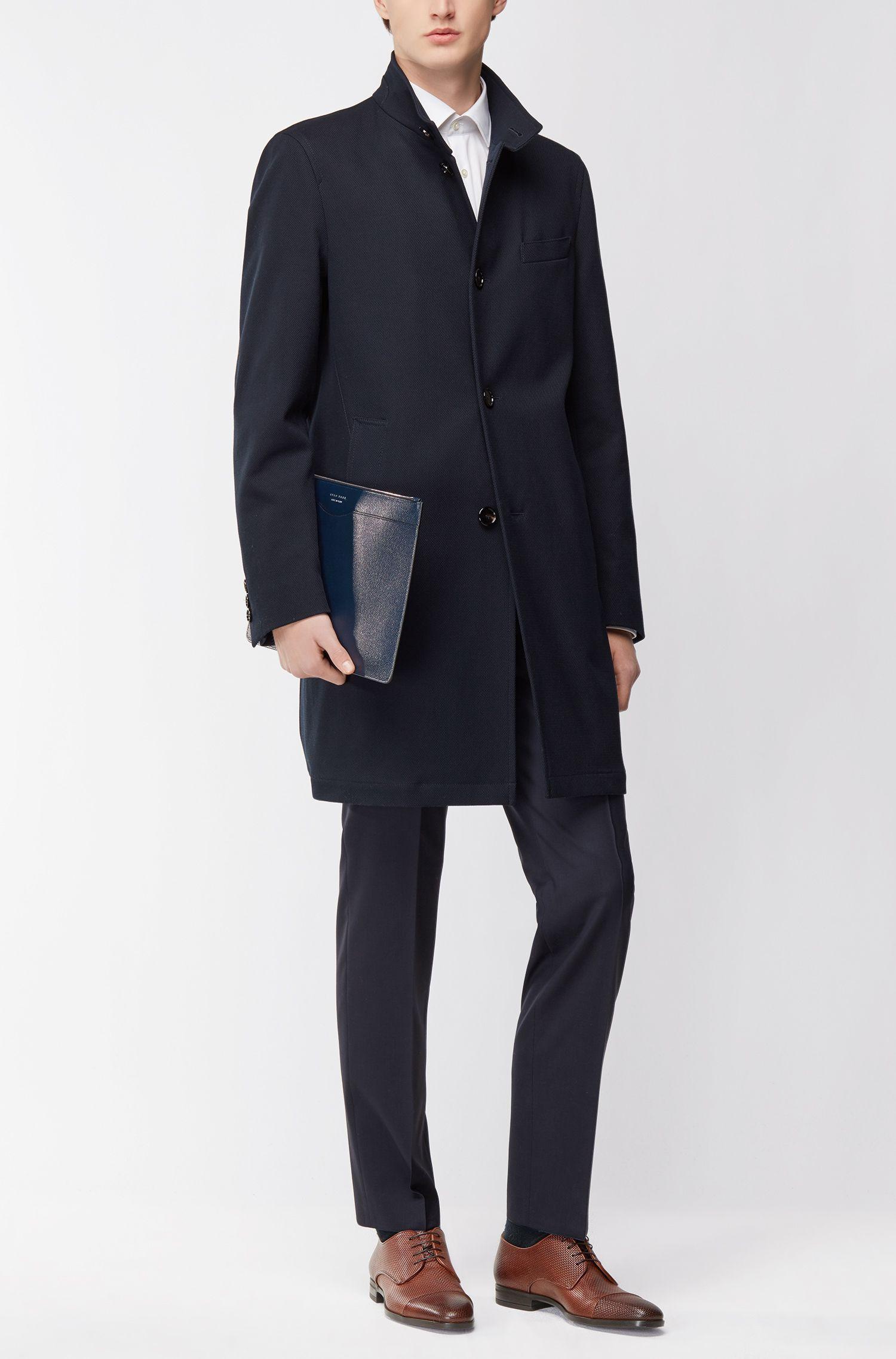 Embossed Leather Derby Shoe | Kensington Derb, Brown