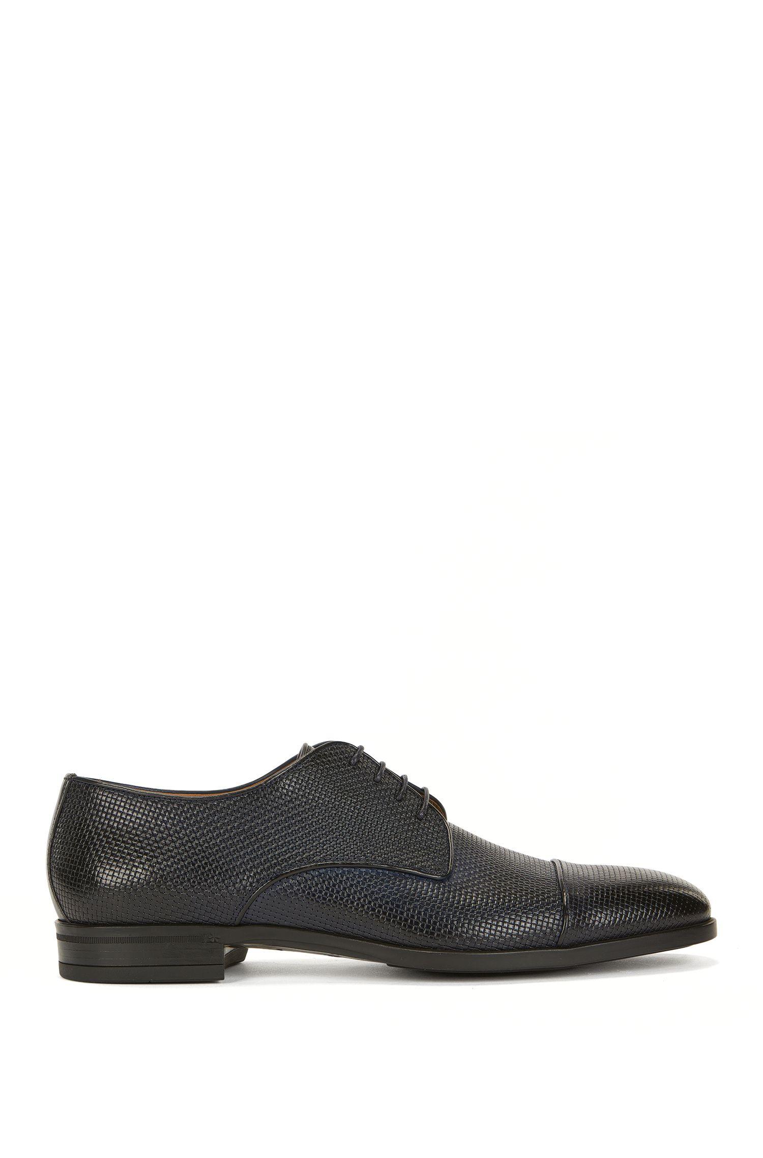 Embossed Leather Derby Shoe | Kensington Derb