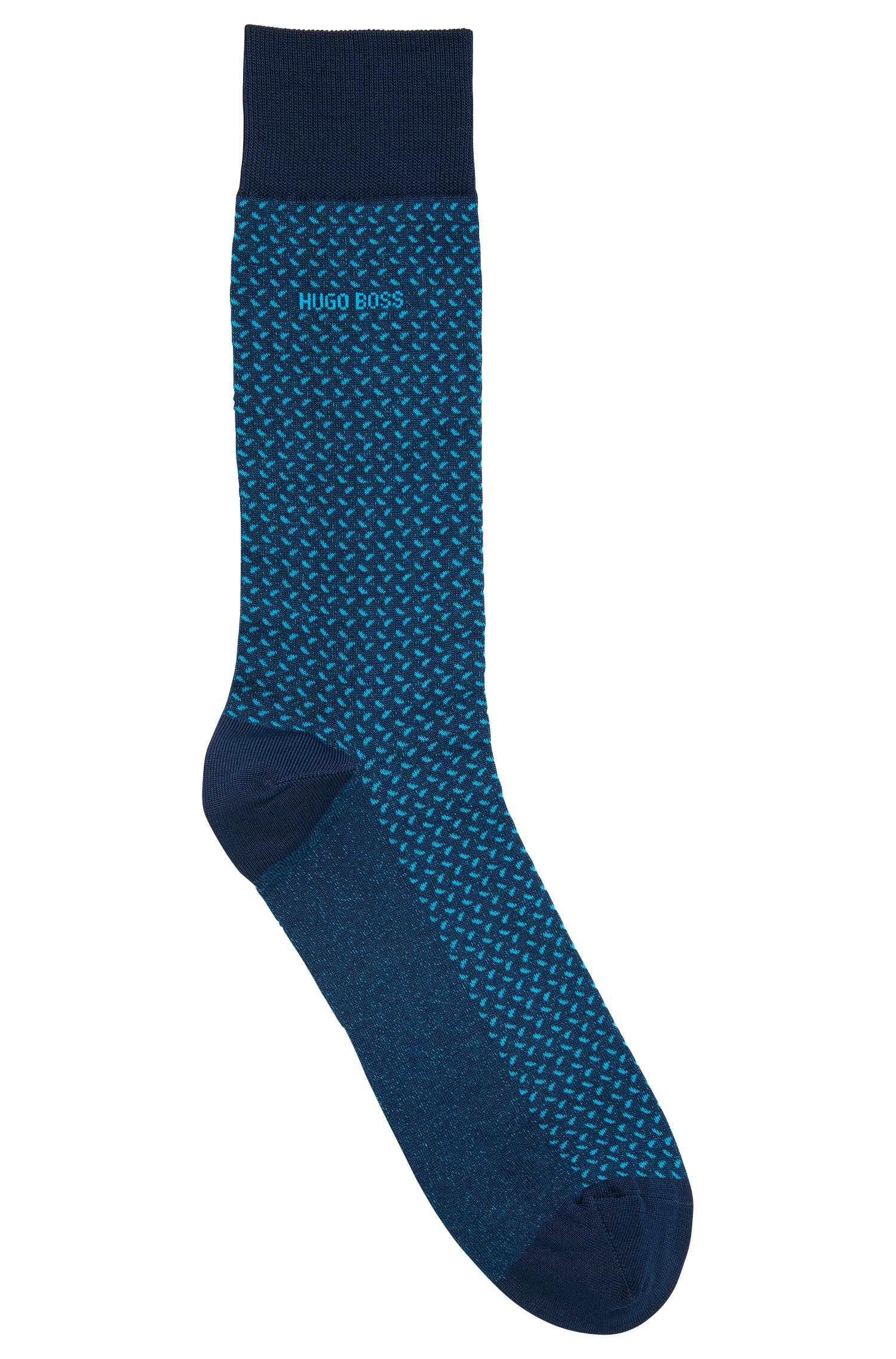 Patterned Cotton Blend Sock | RS MiniPattern US MC