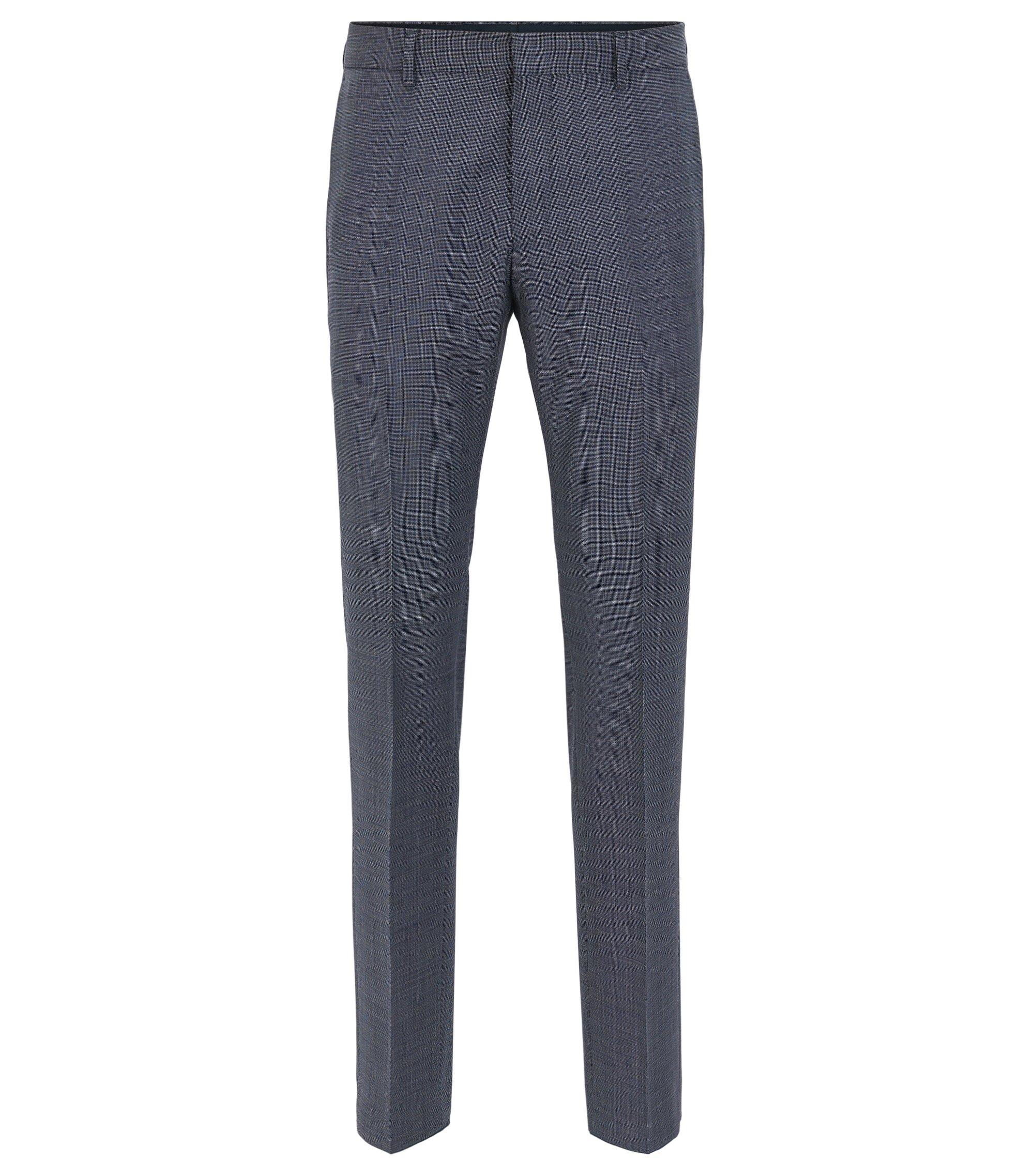 Virgin Wool Dress Pant, Slim Fit | Genesis, Turquoise