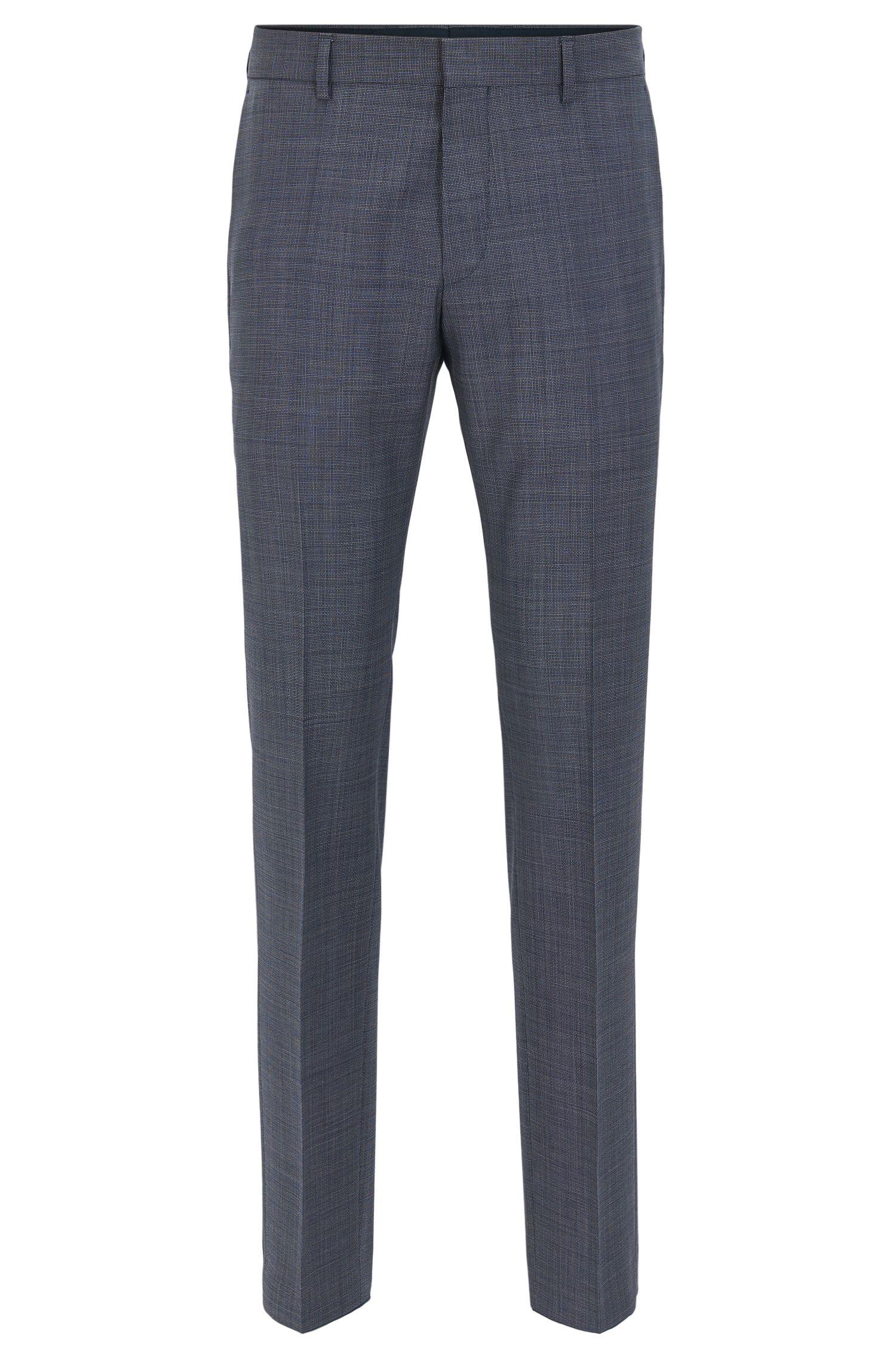 Virgin Wool Dress Pant, Slim Fit | Genesis