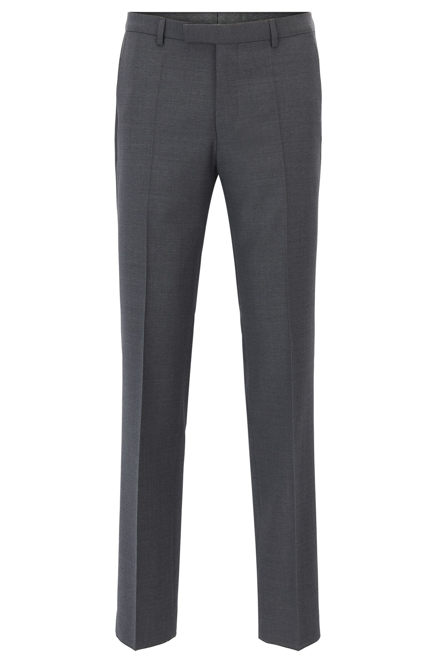Virgin Wool Pant, Regular Fit | Leenon