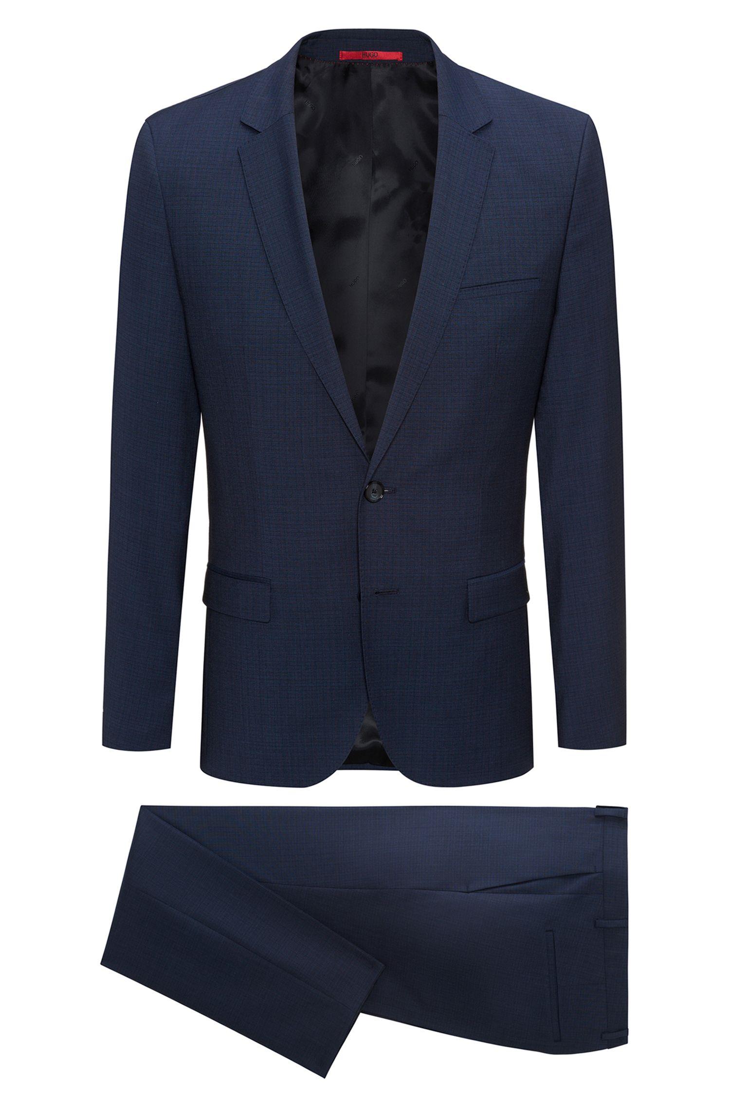 Italian Virgin Wool Suit, Extra Slim Fit | Arti/Hesten