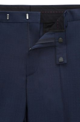 1abe875c HUGO - Italian Virgin Wool Suit, Extra Slim Fit | Arti/Hesten
