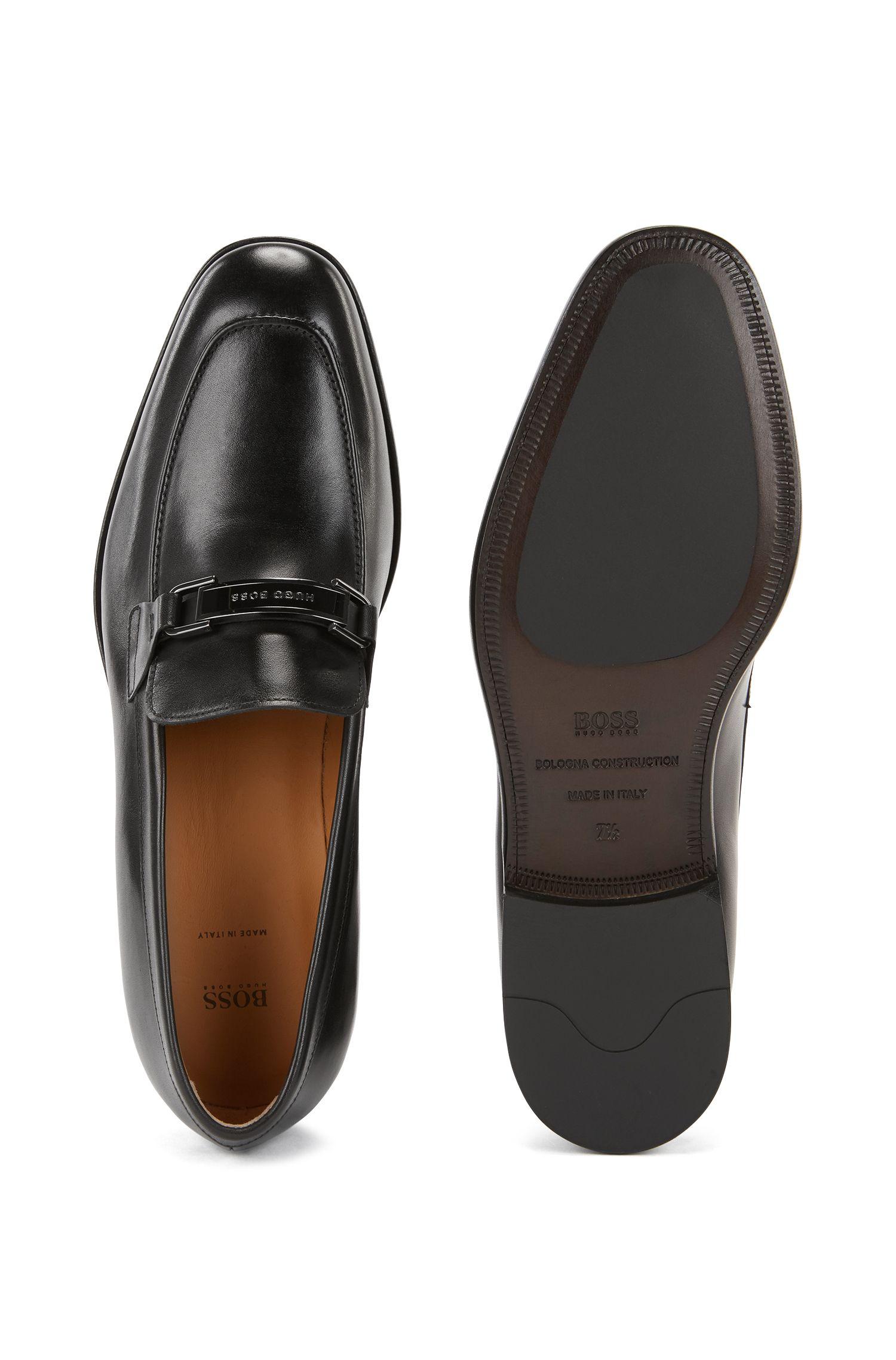 BOSS Hugo Boss Leather Loafer Bristol Loaf Hw 10 Black