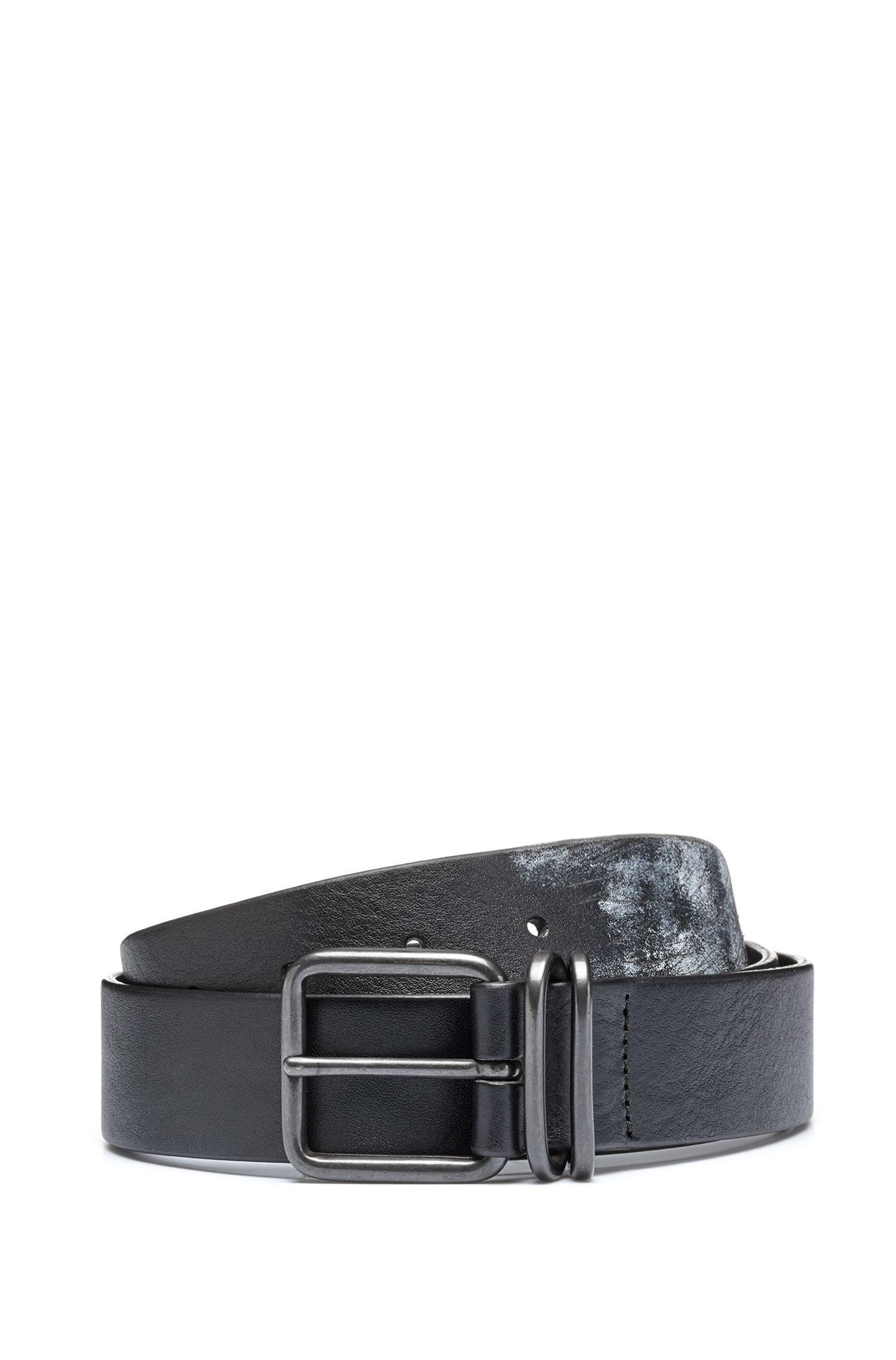 Leather Belt | Grafy, Black