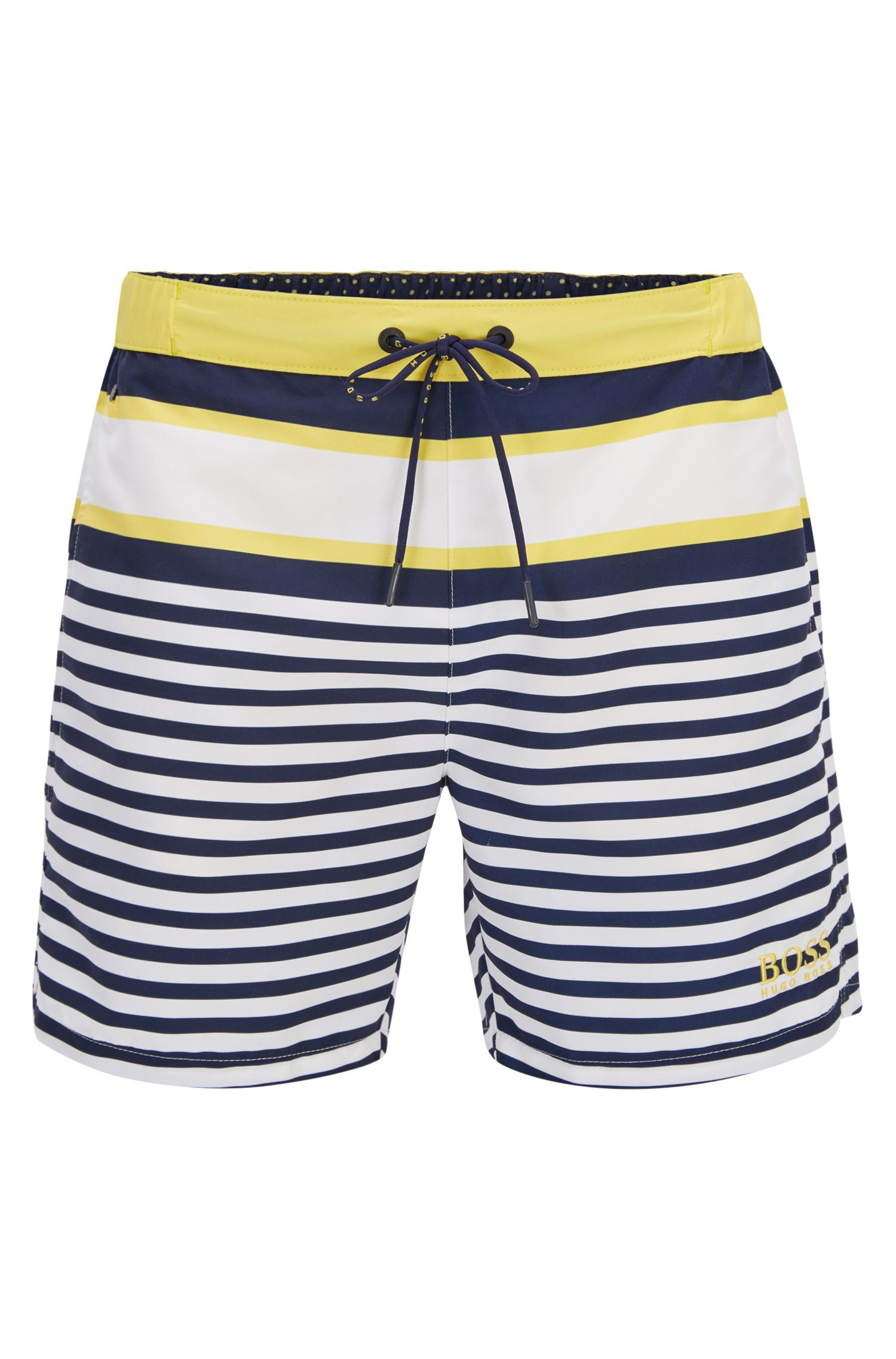 Striped Quick Dry Swim Trunk | Bannerfish