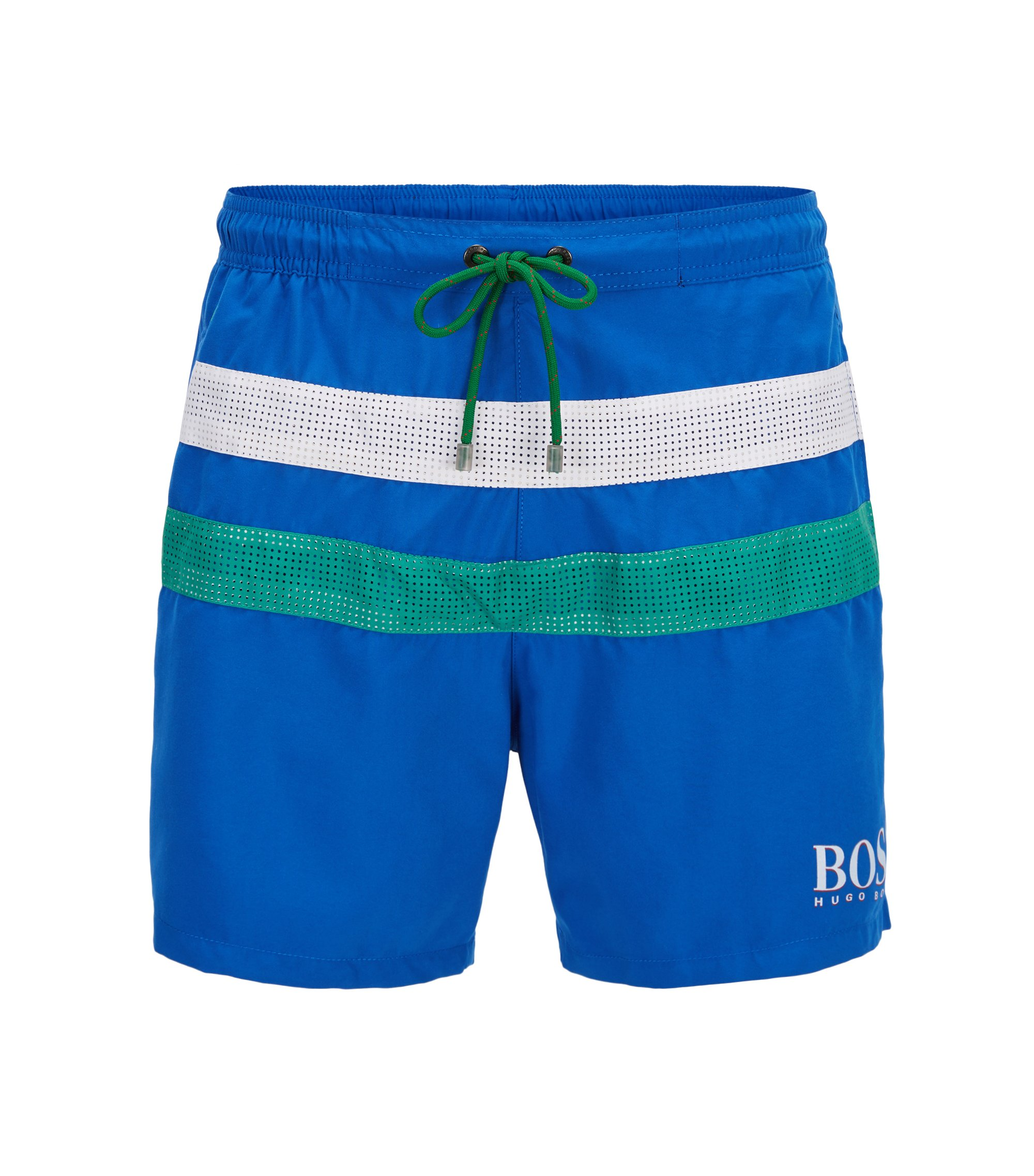 Flag Quick Dry Swim Trunk | Footballfish, Blue
