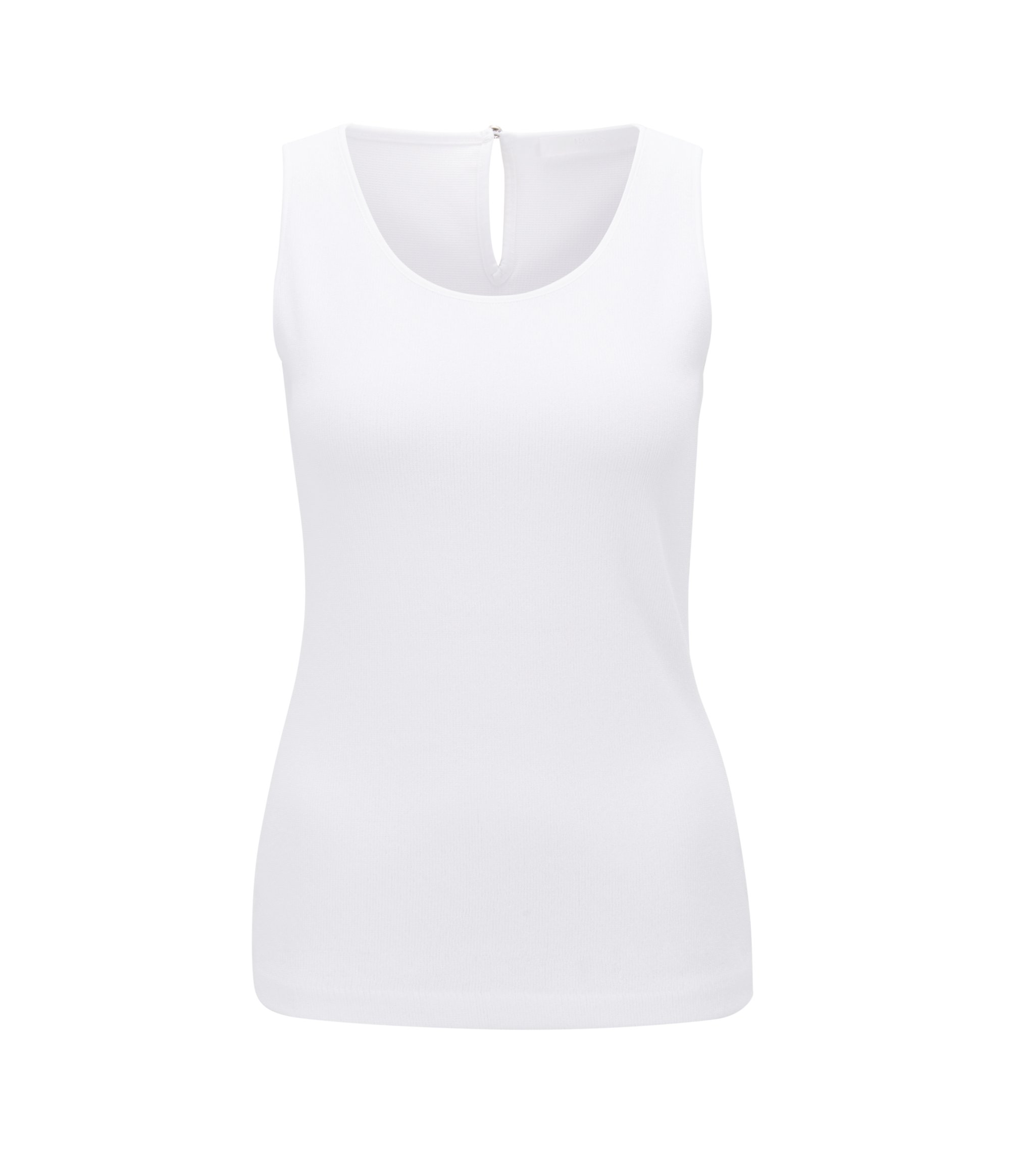 Sleeveless Top | Enori, Natural