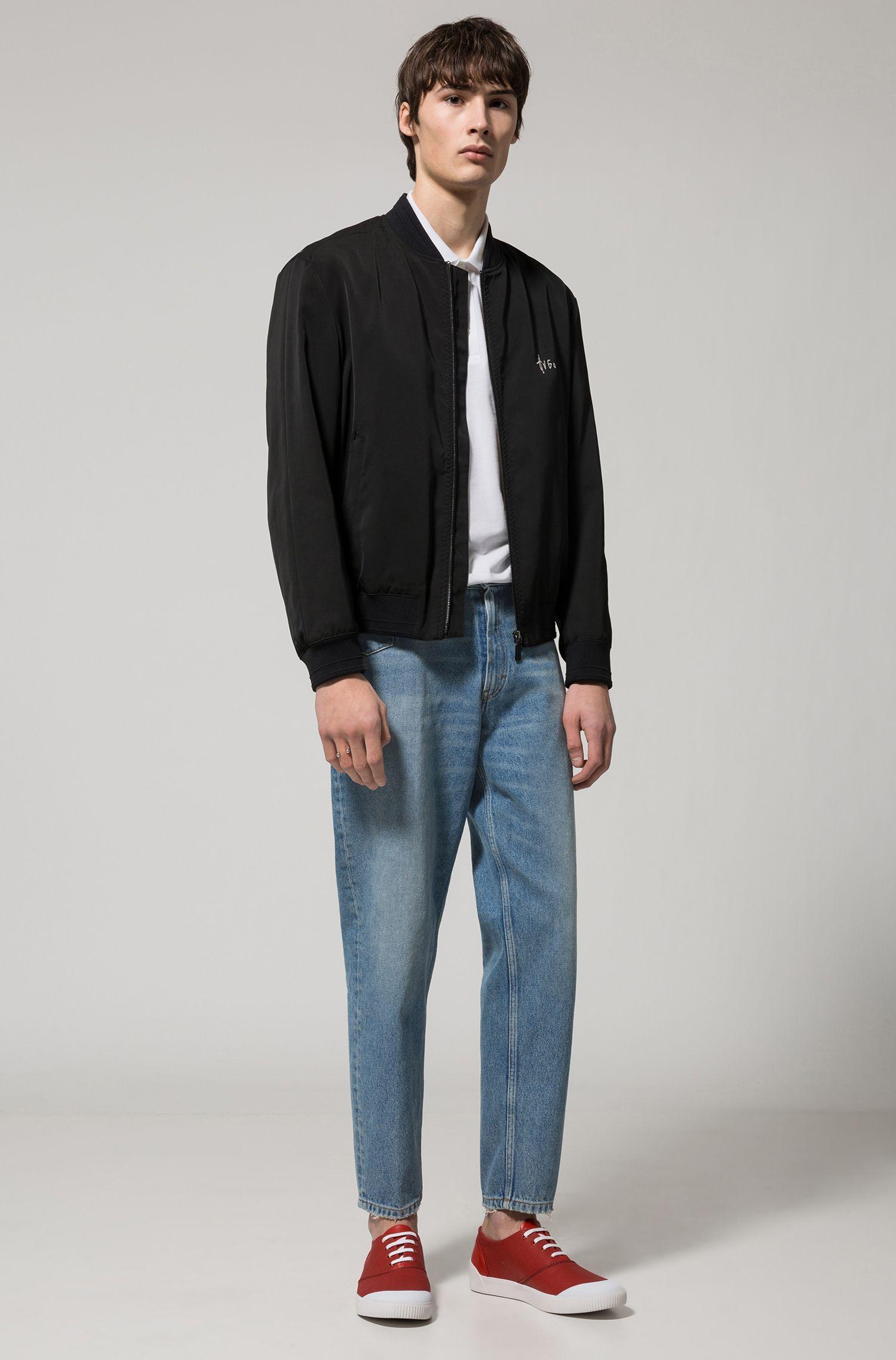 Graphic-Print Polo Shirt, Regular Fit | Darelli, White