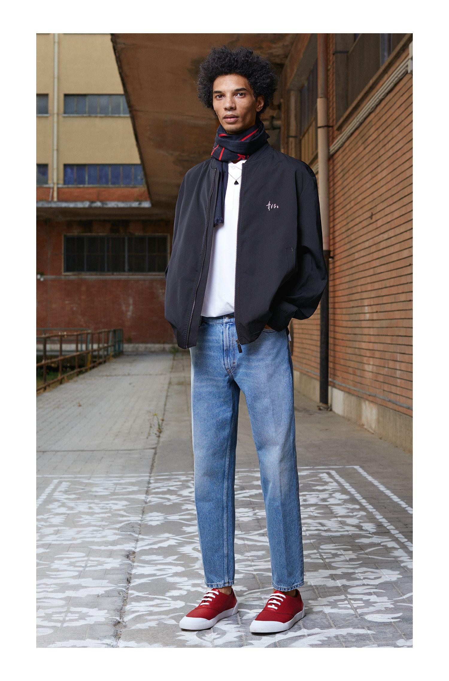 Graphic-Print Polo Shirt, Regular Fit | Darelli