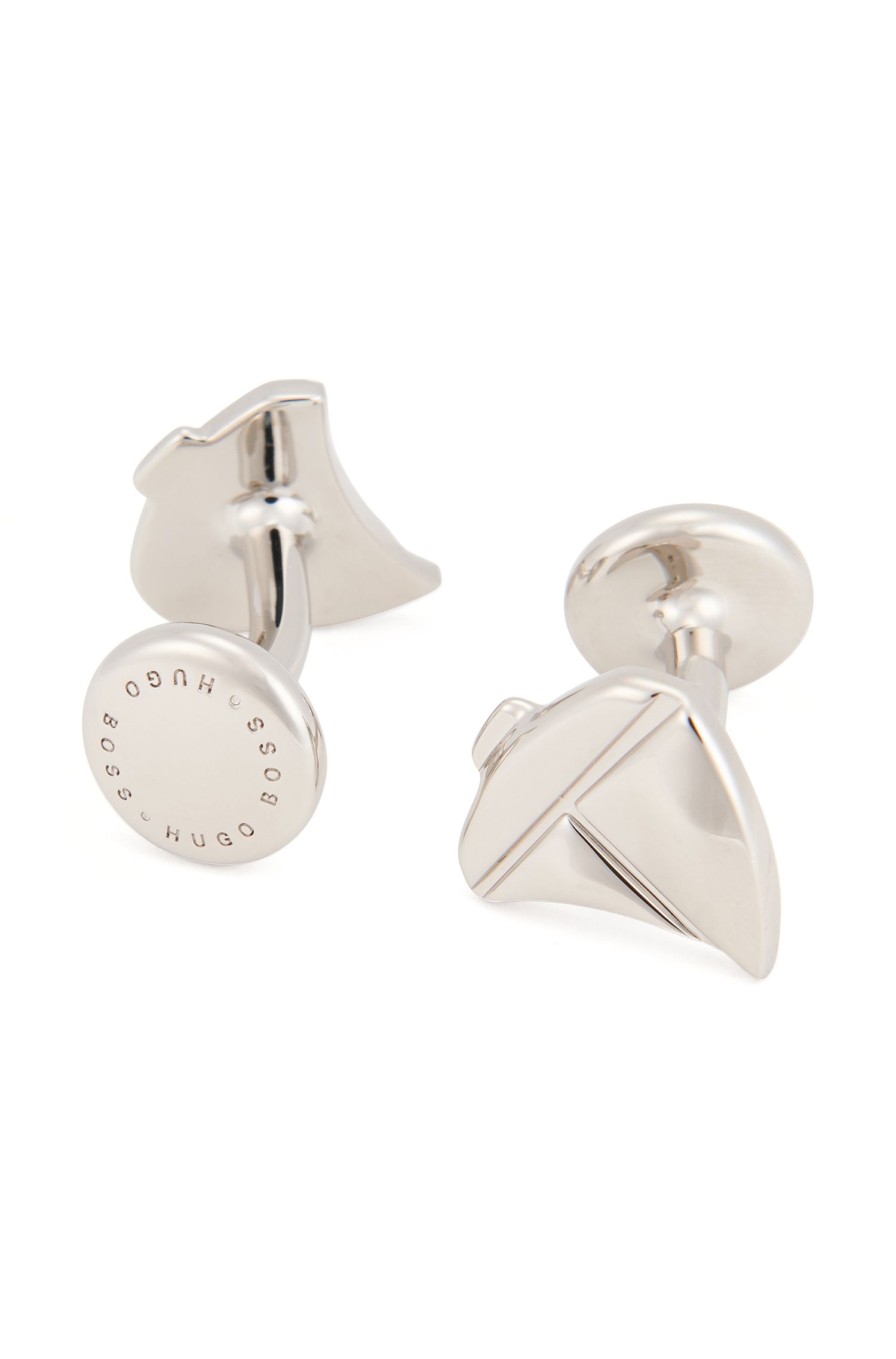 Sailboat Brass Cufflinks | Tack